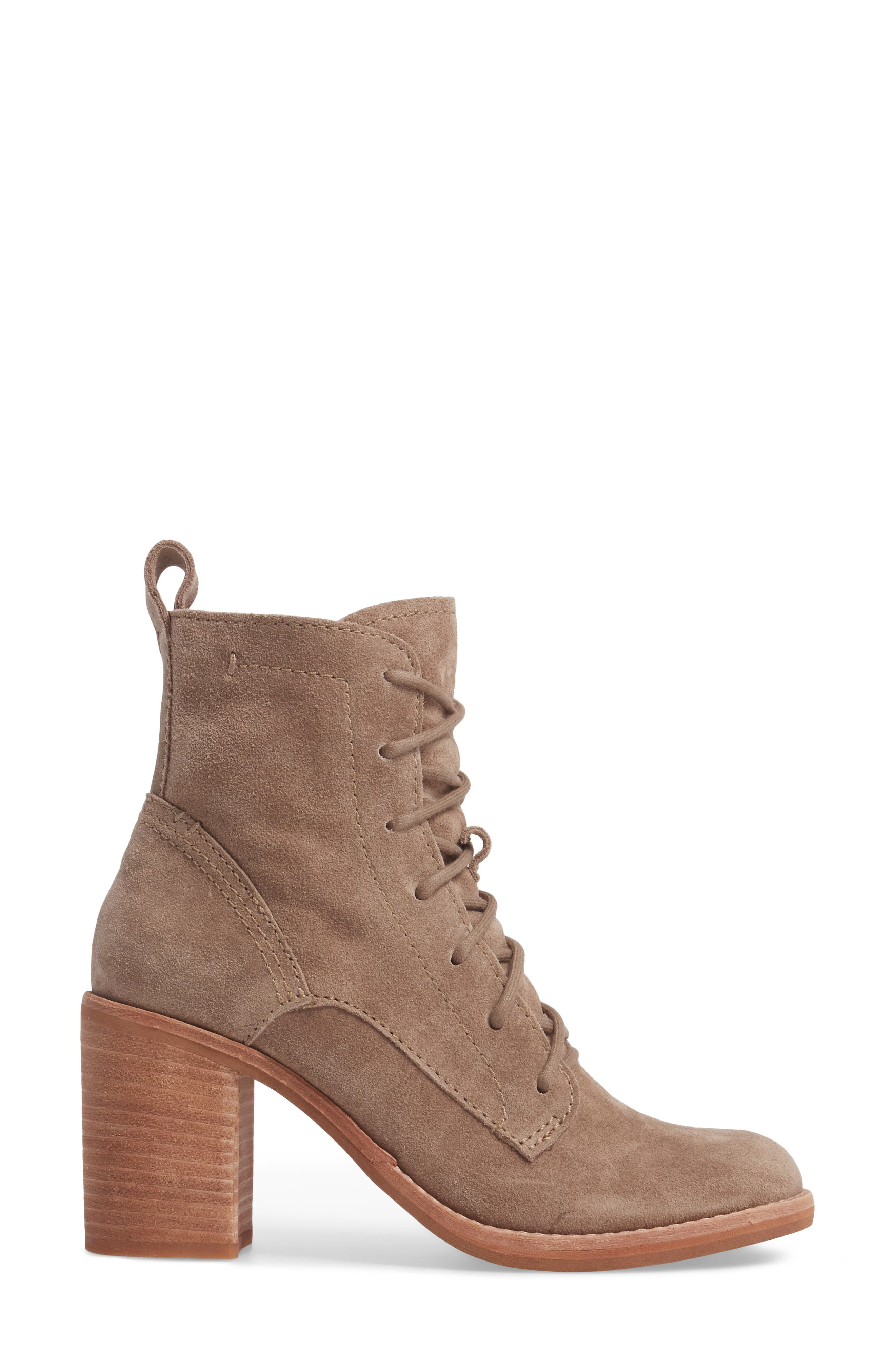 Rowly Lace-Up Bootie,                             Alternate thumbnail 6, color,