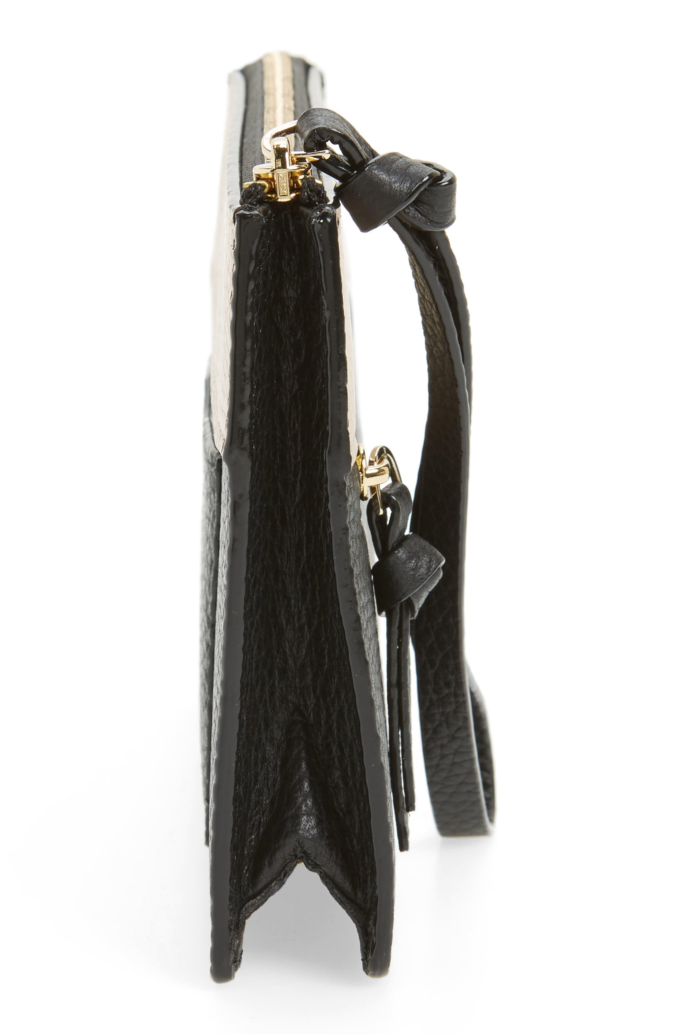 jackson street - lancey leather wristlet,                             Alternate thumbnail 26, color,