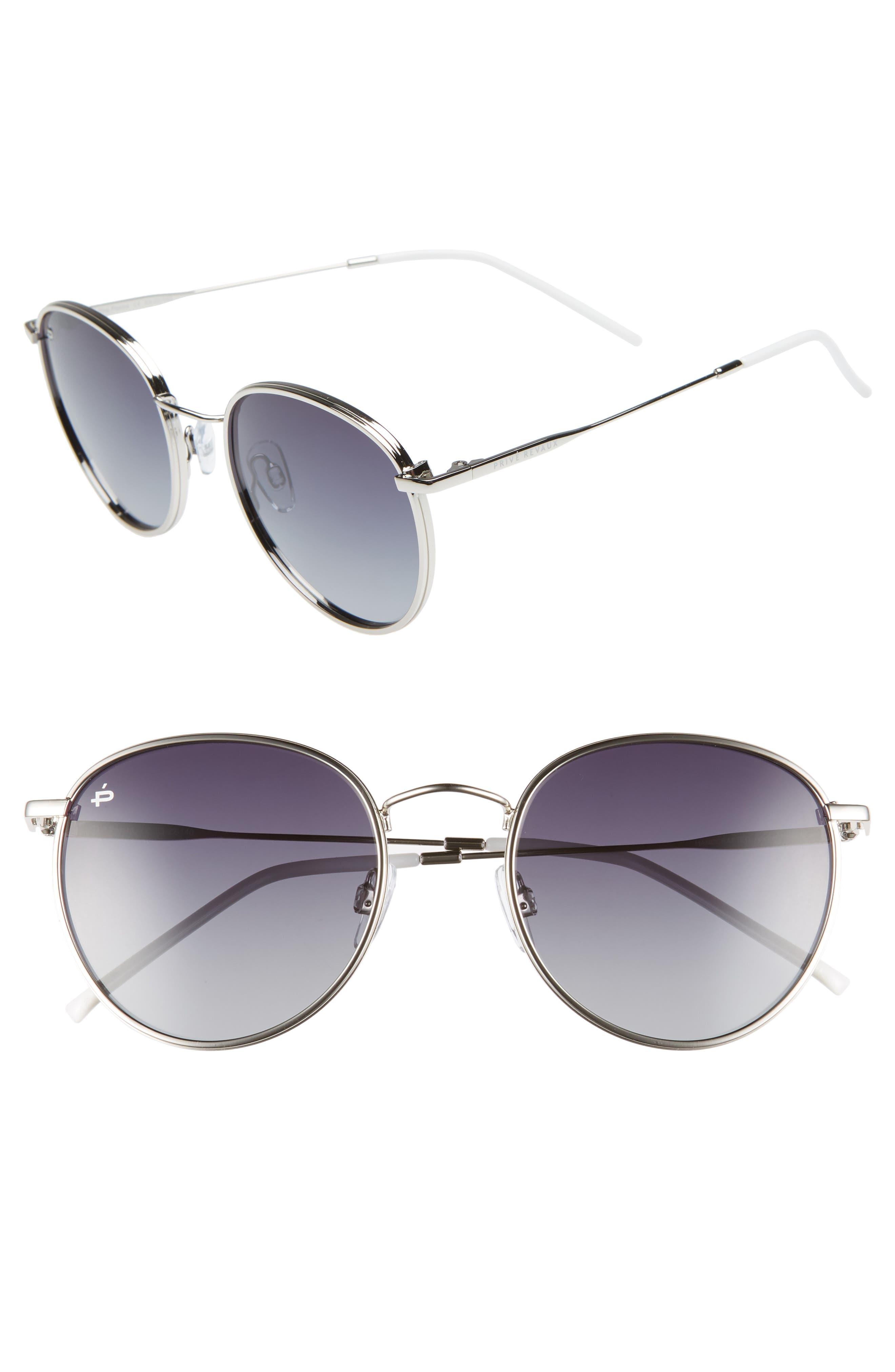 Privé Revaux The Patriot 53mm Sunglasses,                             Main thumbnail 2, color,