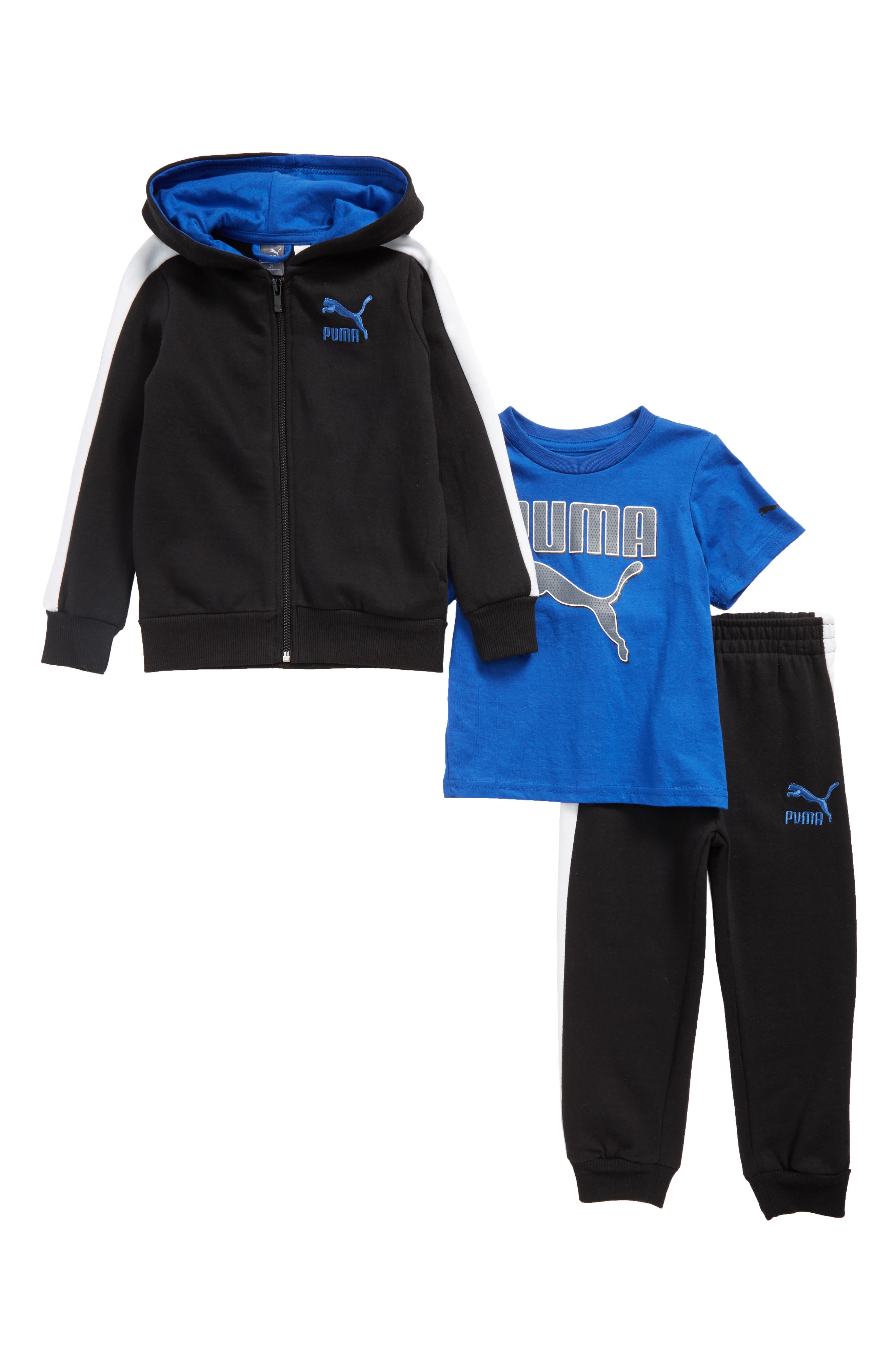 T-Shirt, Hoodie & Sweatpants Set,                             Main thumbnail 1, color,