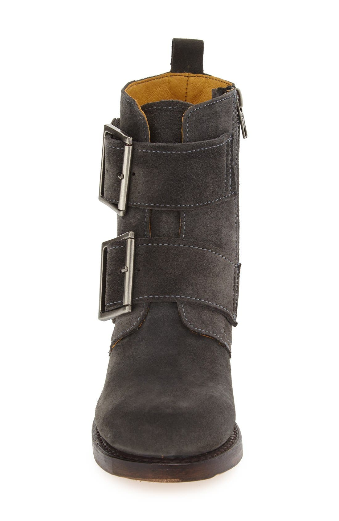 'Sabrina' Double Buckle Boot,                             Alternate thumbnail 10, color,
