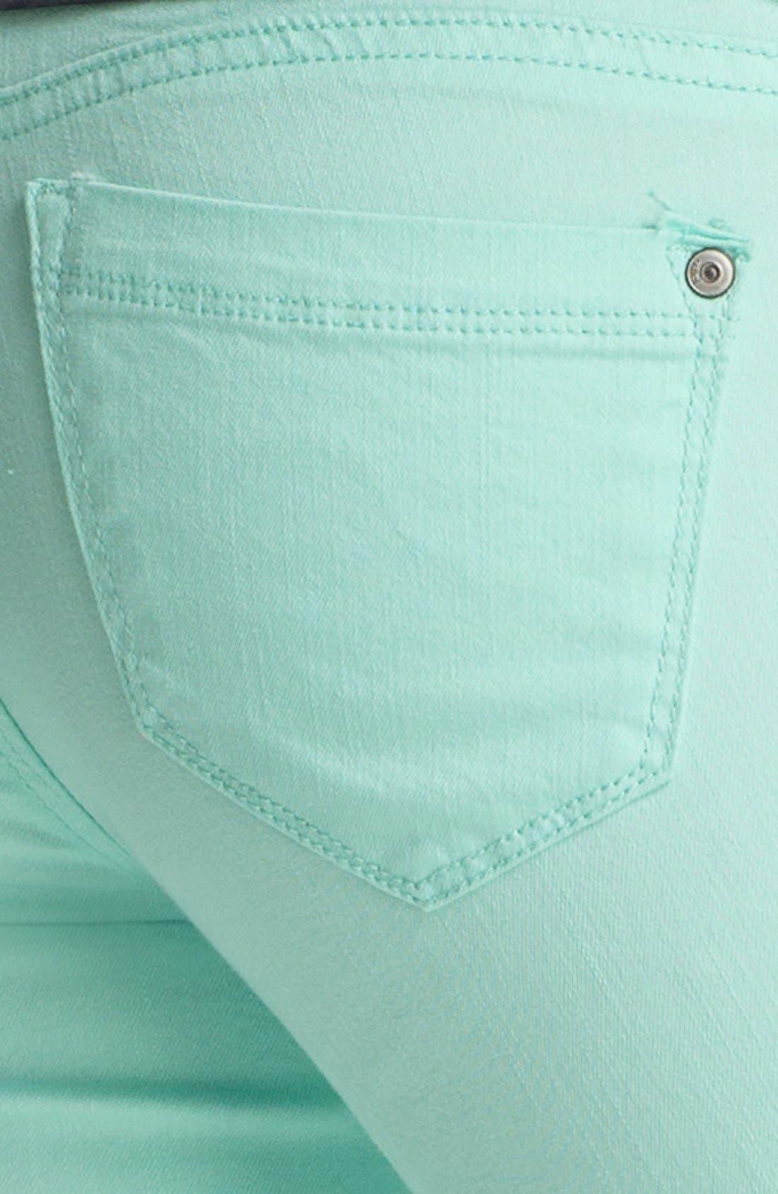 JOLT,                             Ankle Zip Skinny Jeans,                             Alternate thumbnail 2, color,                             337