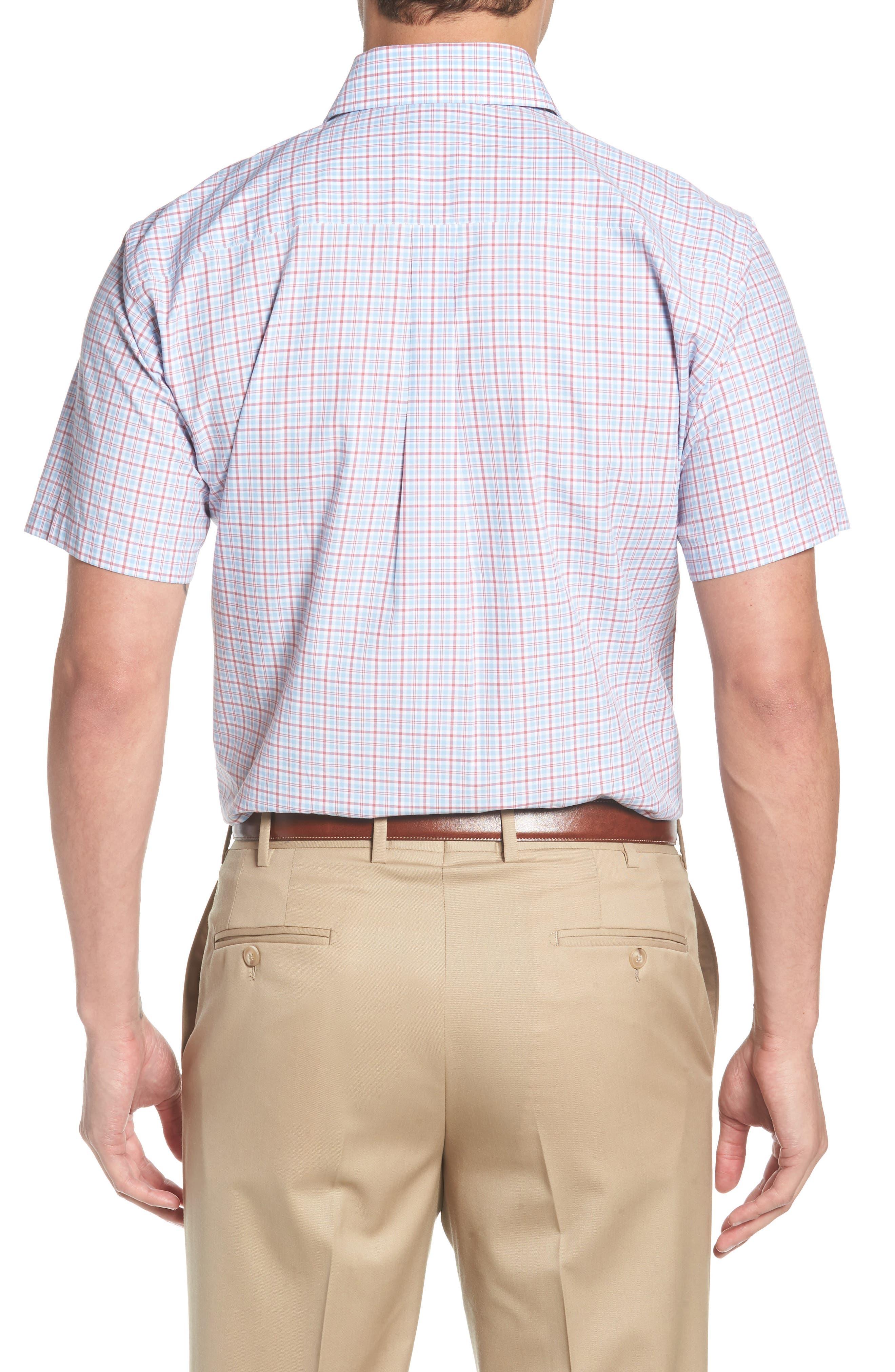 Delridge Regular Fit Tartan Sport Shirt,                             Alternate thumbnail 2, color,                             400