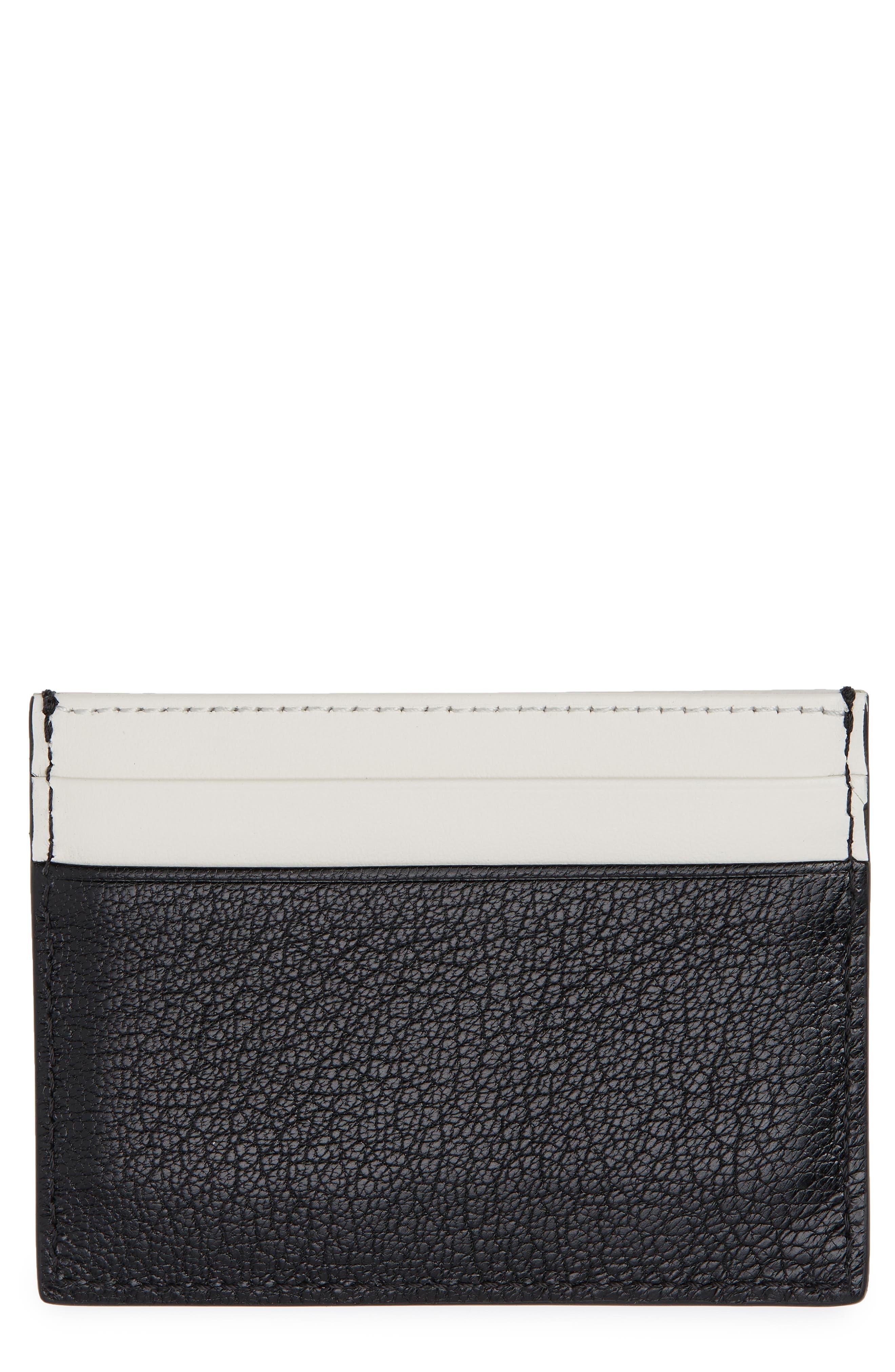 Sandon Leather Card Case,                             Main thumbnail 1, color,                             001