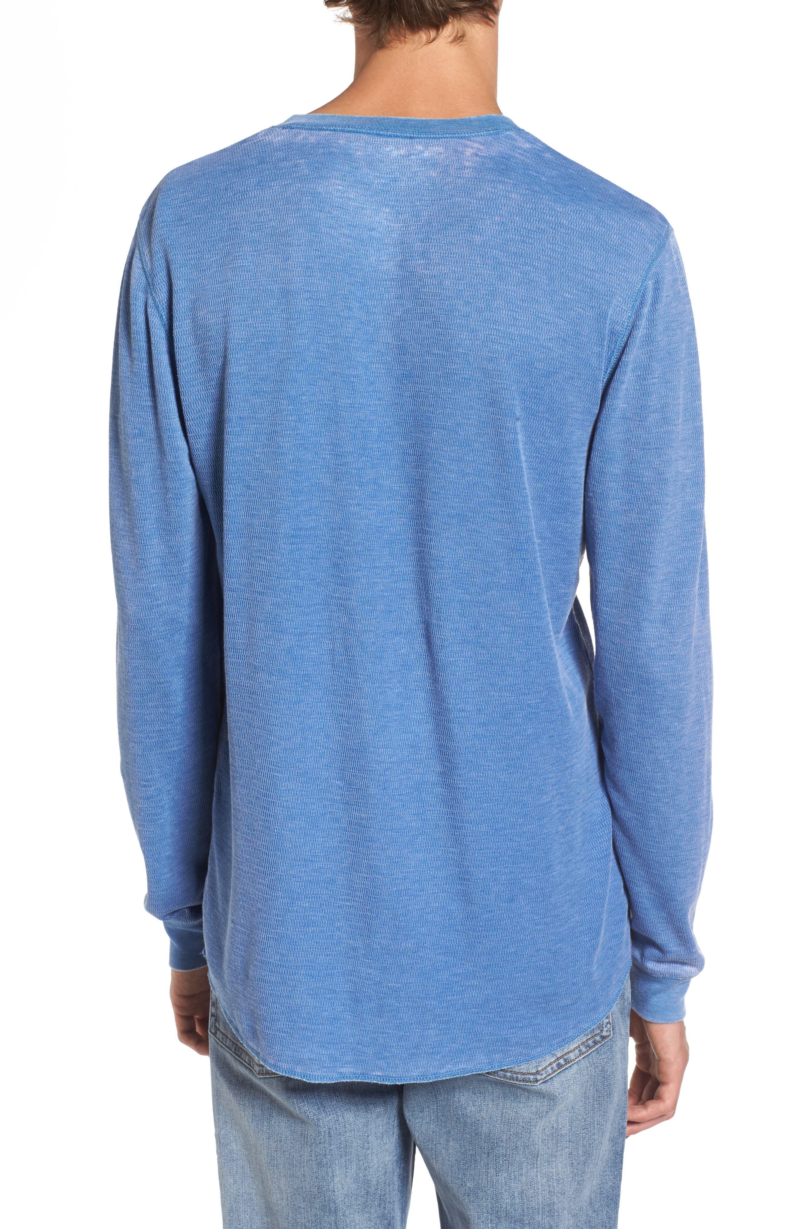 Notch Neck Thermal T-Shirt,                             Alternate thumbnail 11, color,