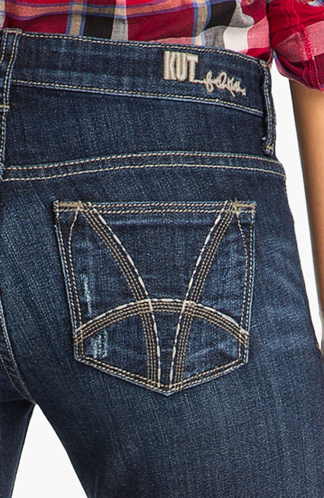 Baby Bootcut Jeans,                             Alternate thumbnail 2, color,                             400
