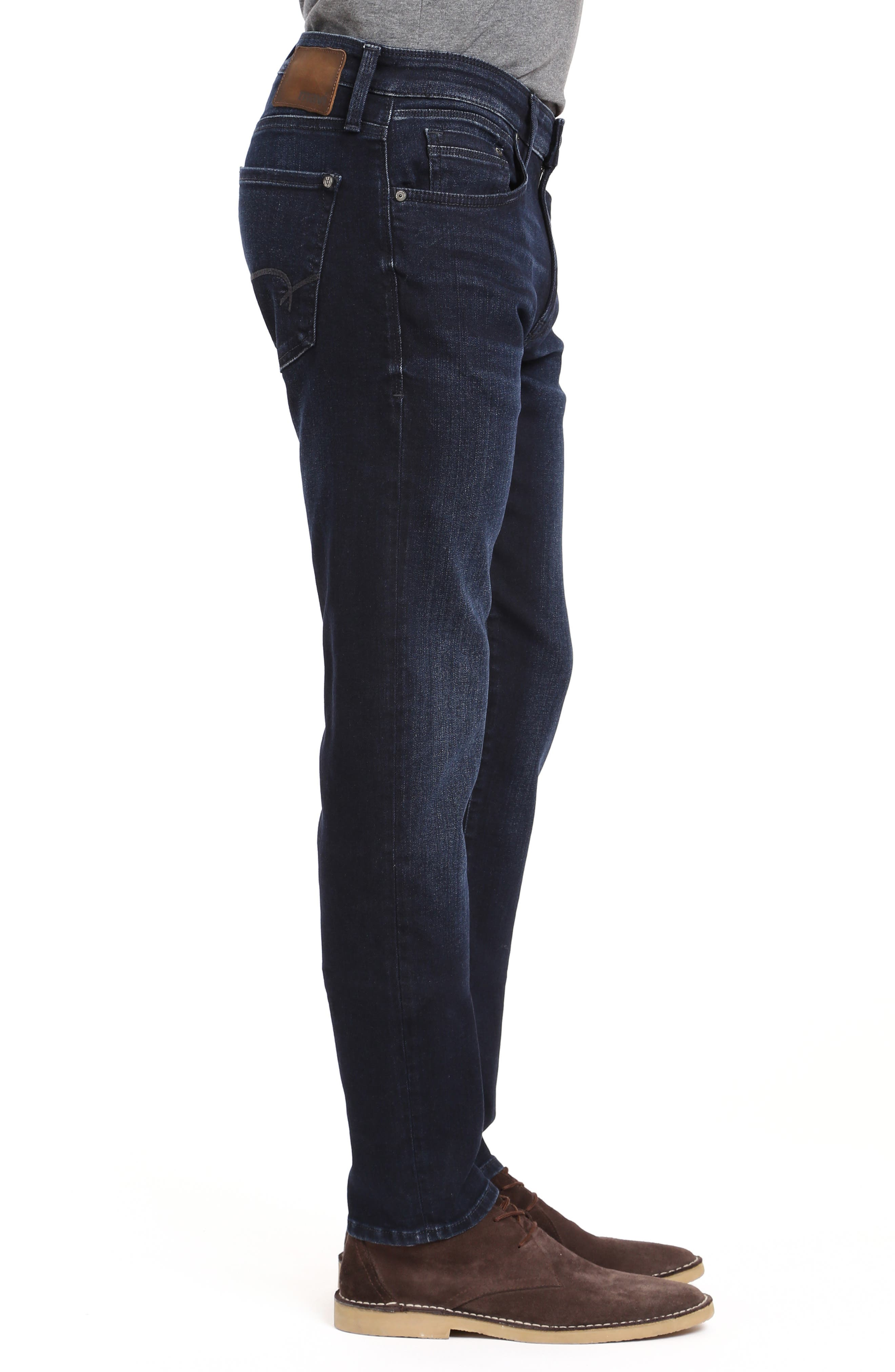 Jake Skinny Fit Jeans,                             Alternate thumbnail 3, color,                             INK FOGGY WILLIAMSBURG