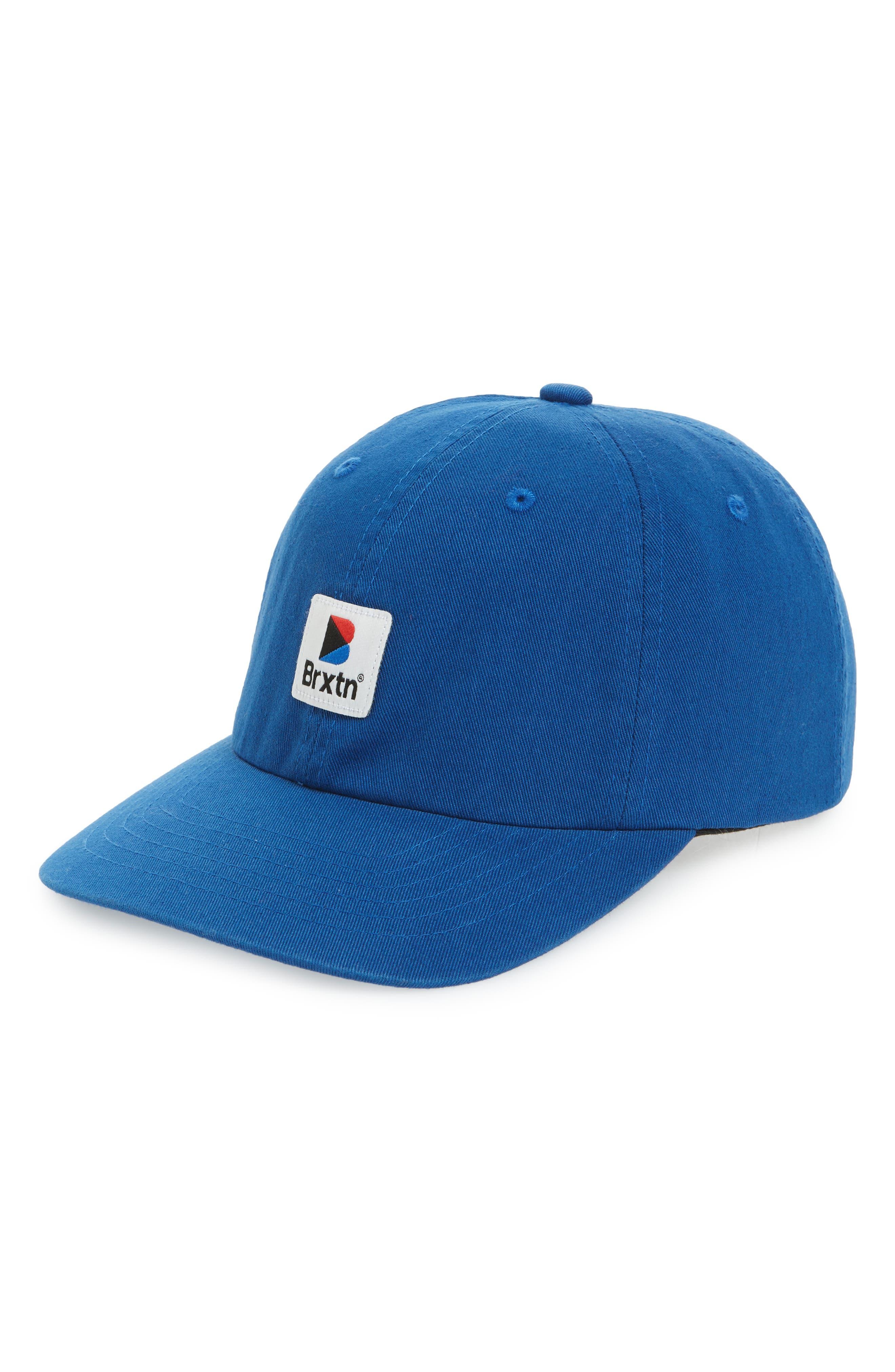Stowell Baseball Cap,                         Main,                         color, ROYAL
