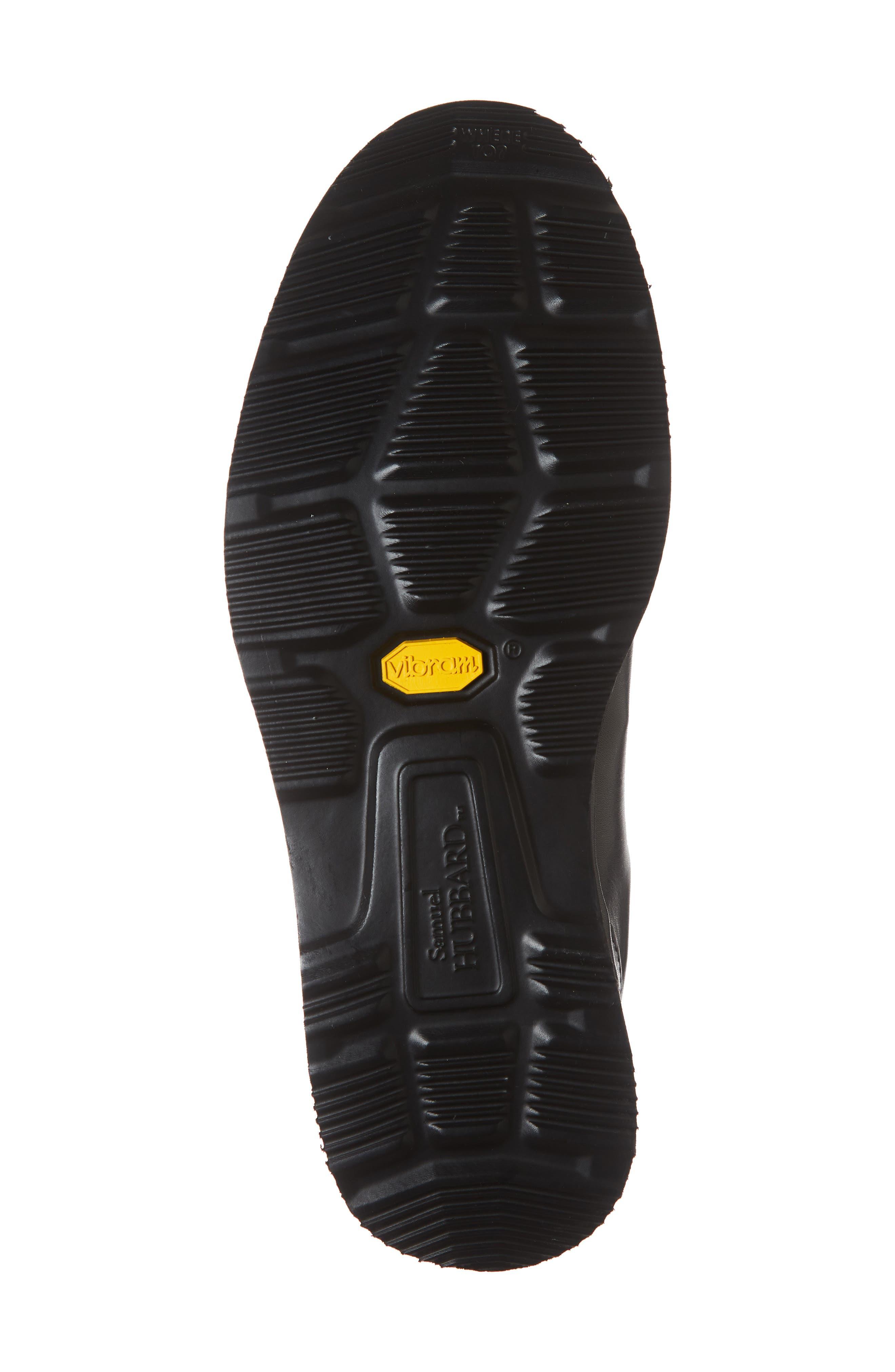 Dress Fast Plain Toe Oxford,                             Alternate thumbnail 6, color,                             BLACK/ BLACK