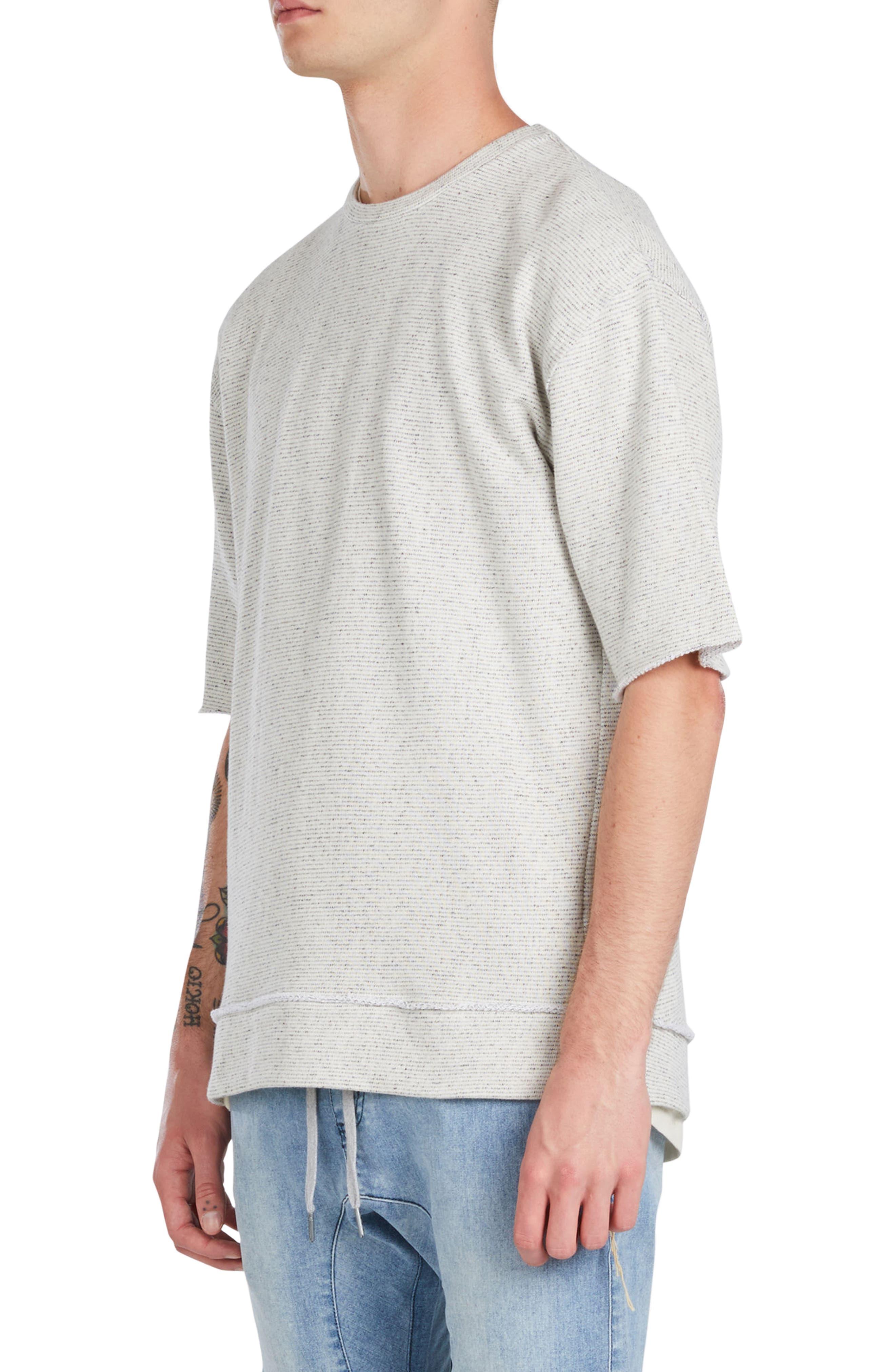 Rugger Oversize Half Sleeve Sweatshirt,                             Alternate thumbnail 3, color,                             251