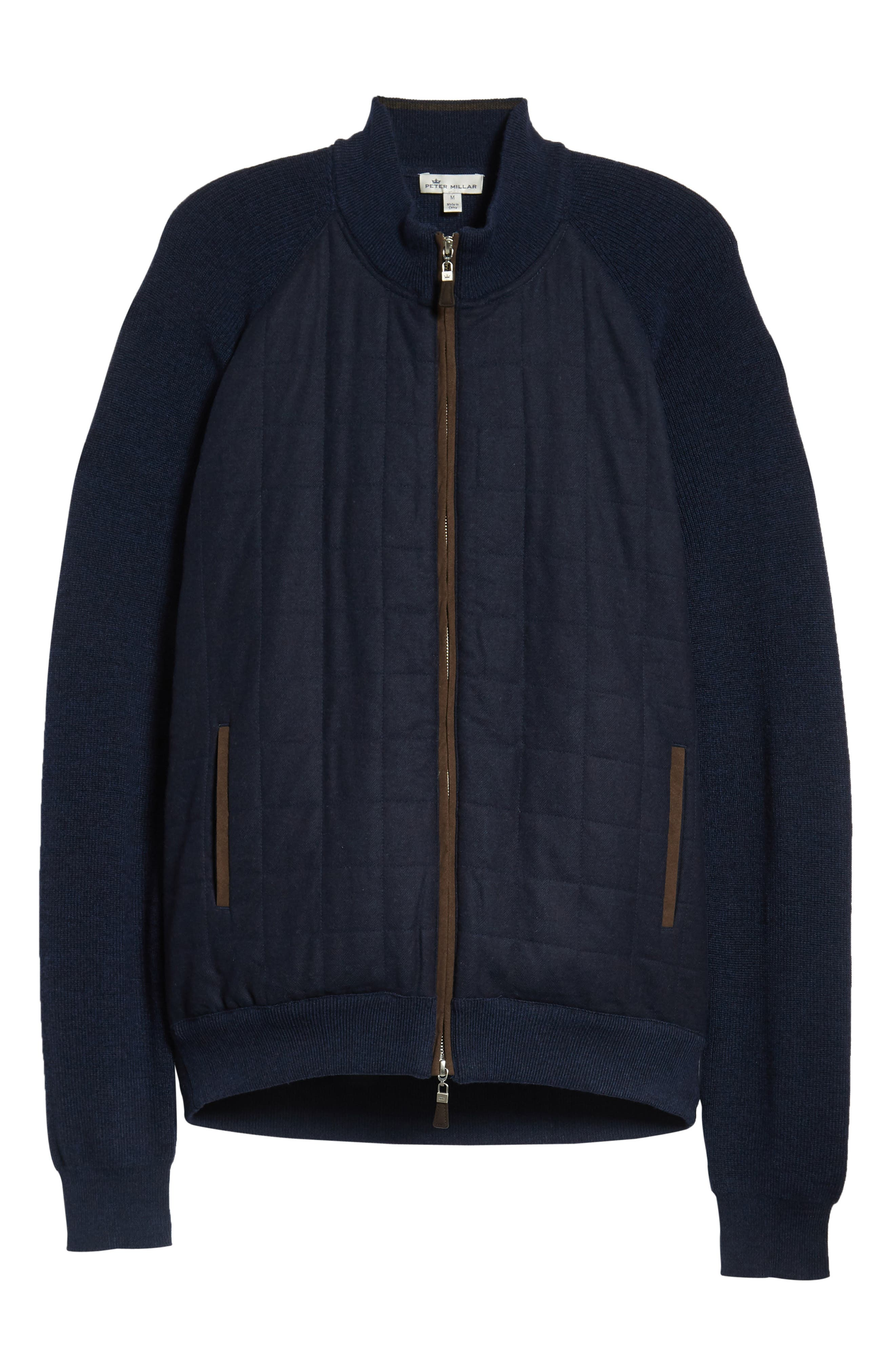Quilted Zip Jacket,                             Alternate thumbnail 6, color,                             410