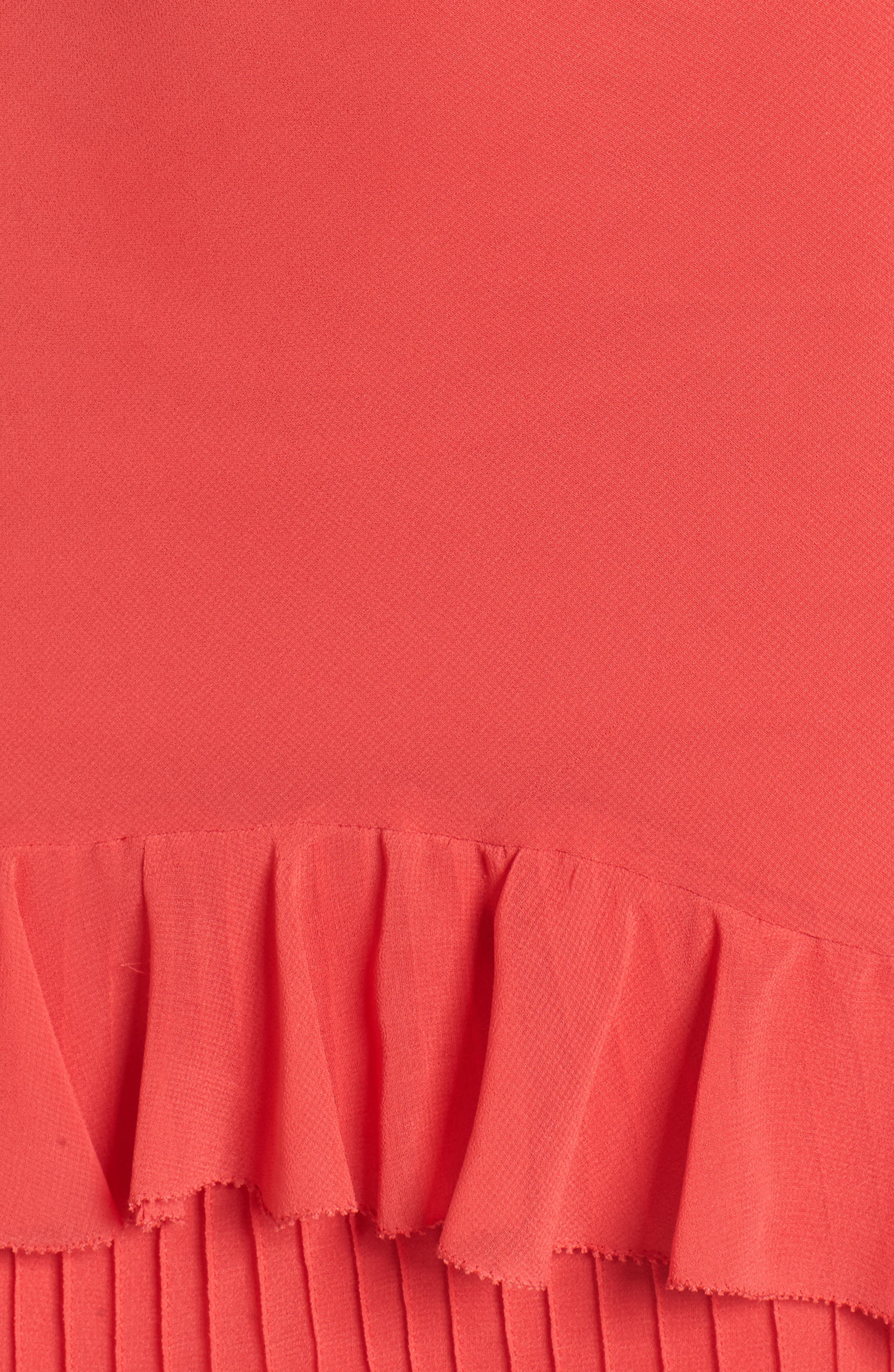 Ruffle Maxi Dress,                             Alternate thumbnail 6, color,                             600