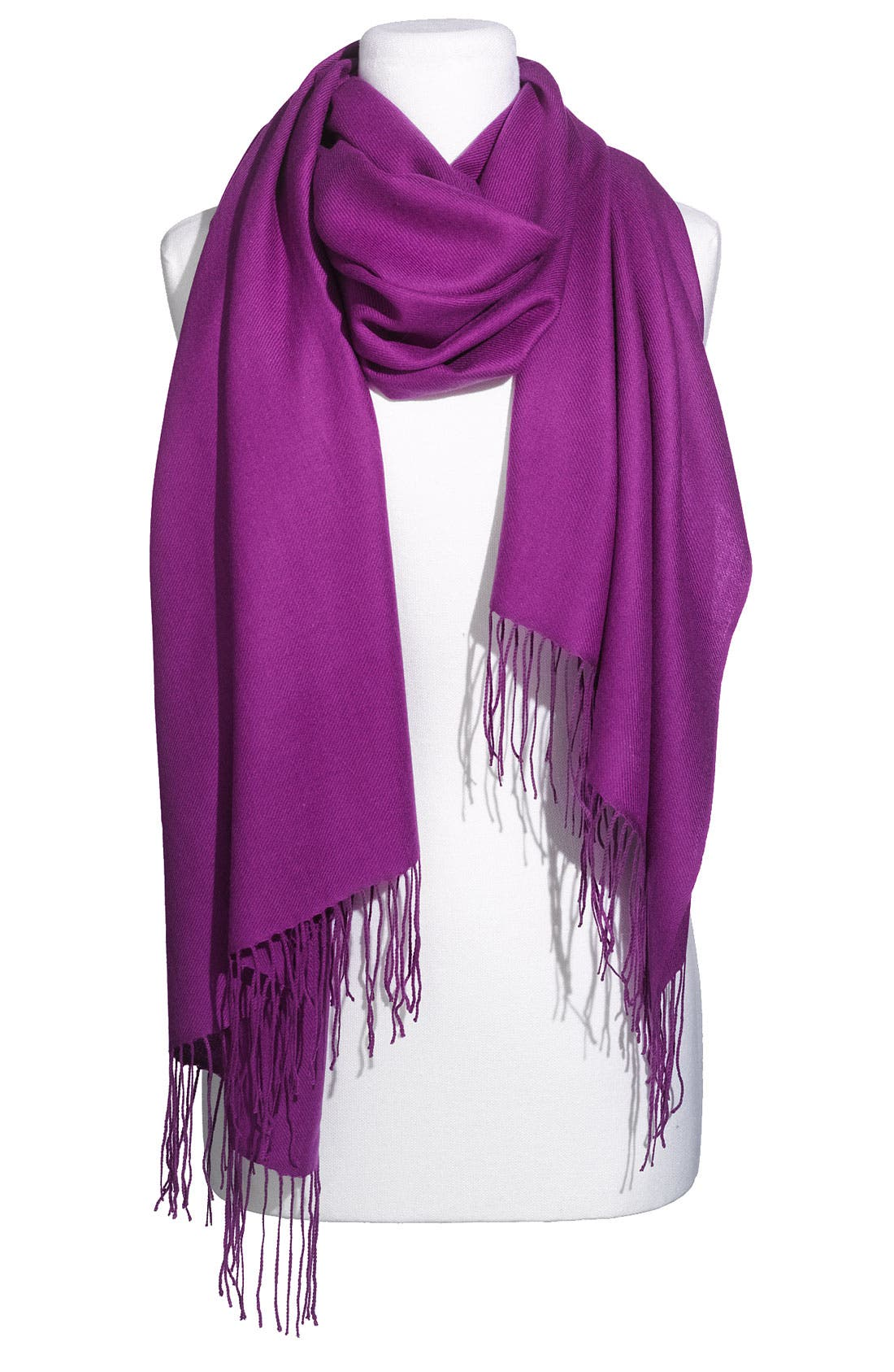 Tissue Weight Wool & Cashmere Wrap,                             Main thumbnail 99, color,