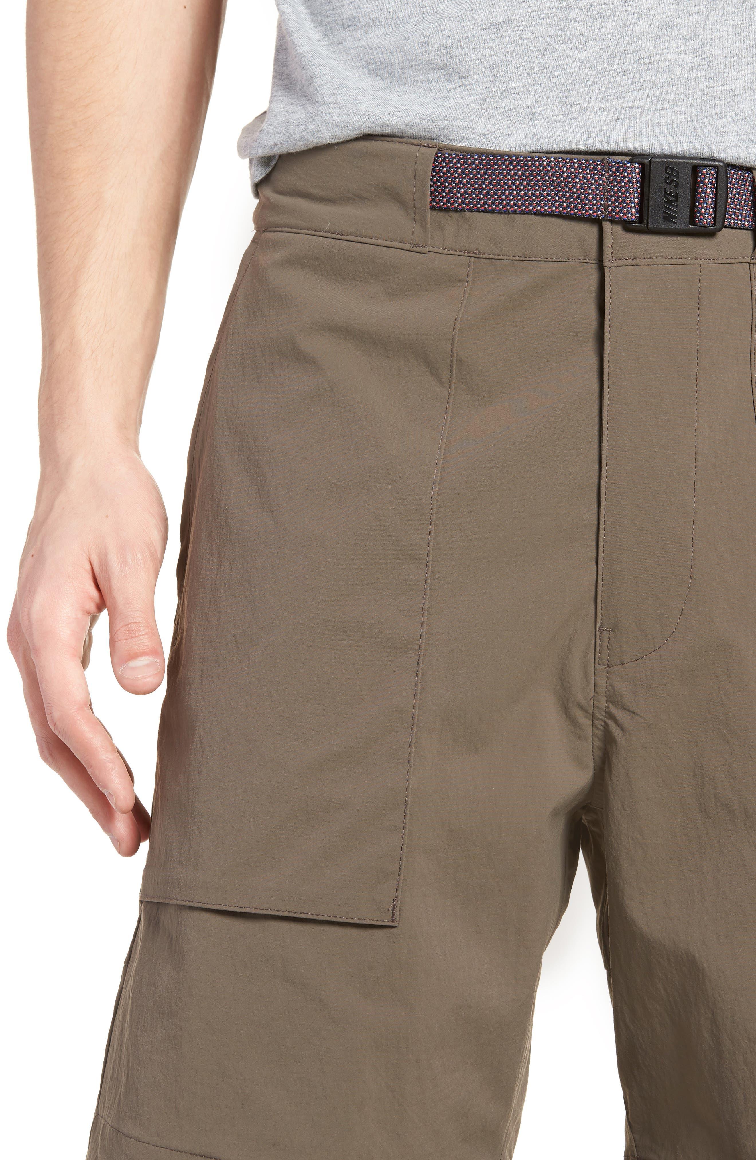 NIKE,                             SB Flex Everett Shorts,                             Alternate thumbnail 4, color,                             250