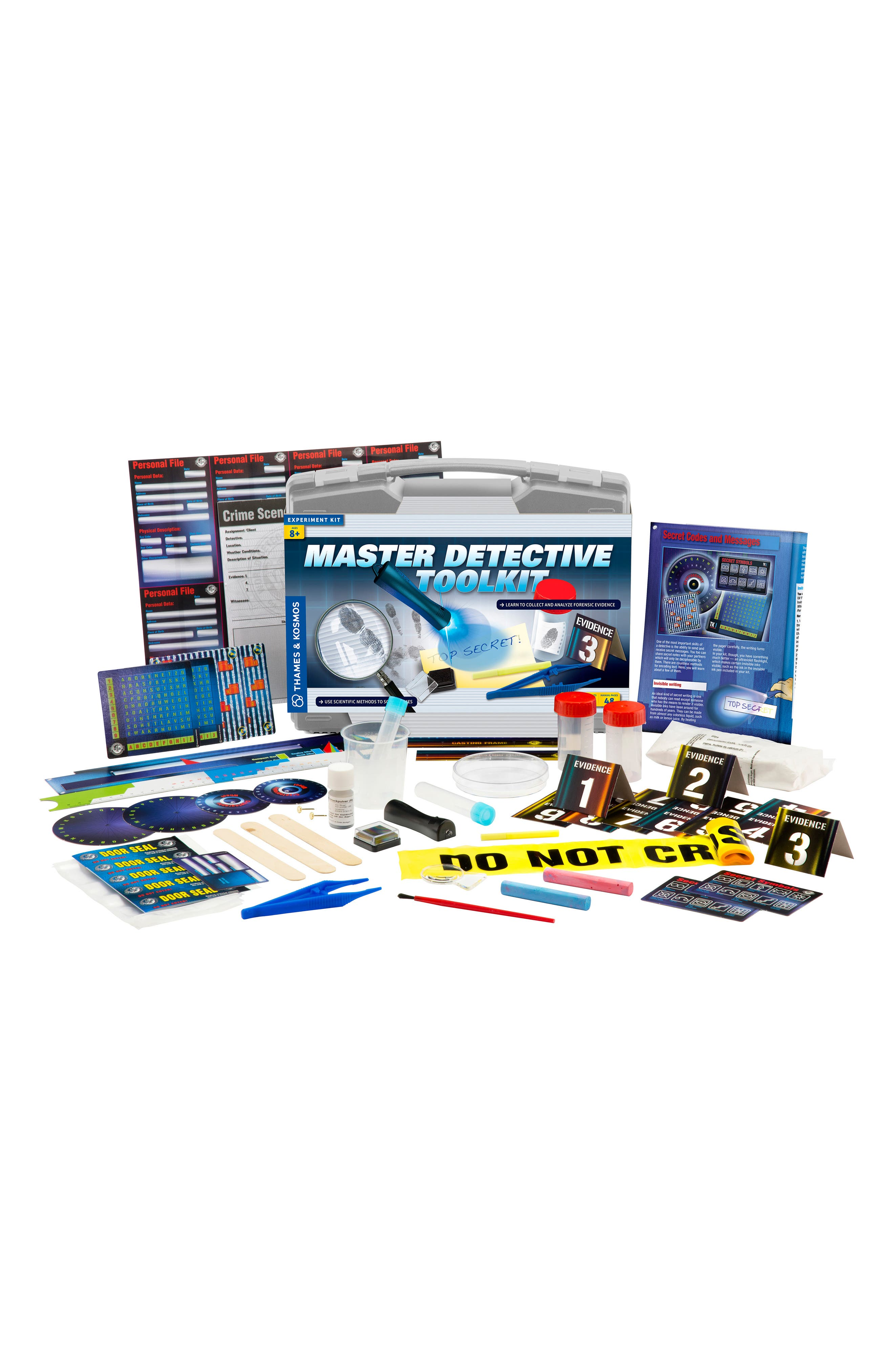 'Master Detective Toolkit' Experiment Kit,                             Alternate thumbnail 4, color,                             GREY