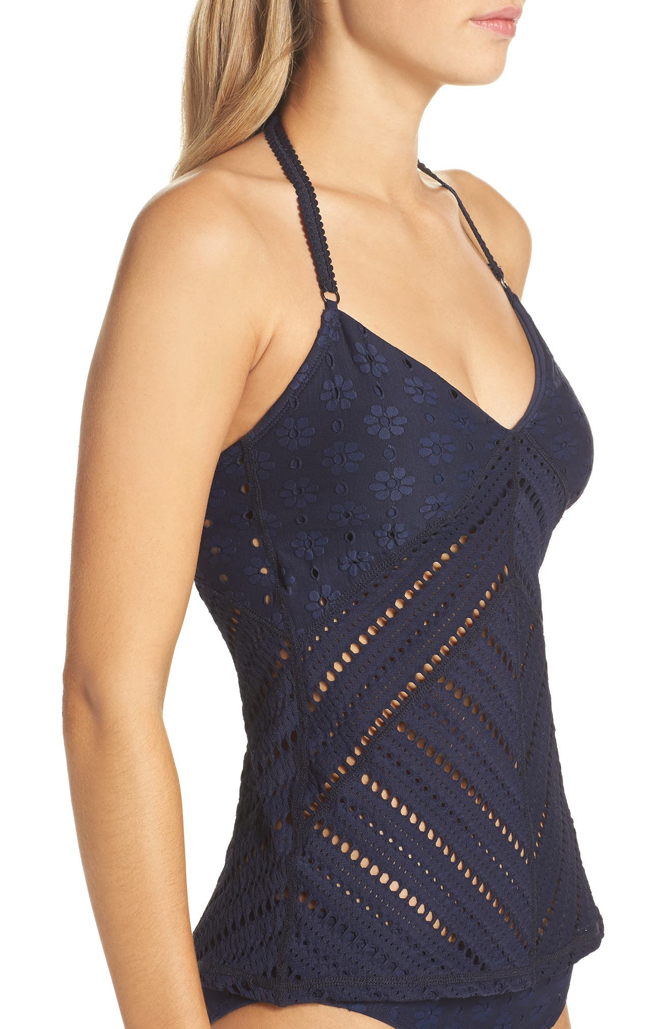 Clarissa Tankini Top,                             Alternate thumbnail 3, color,                             417