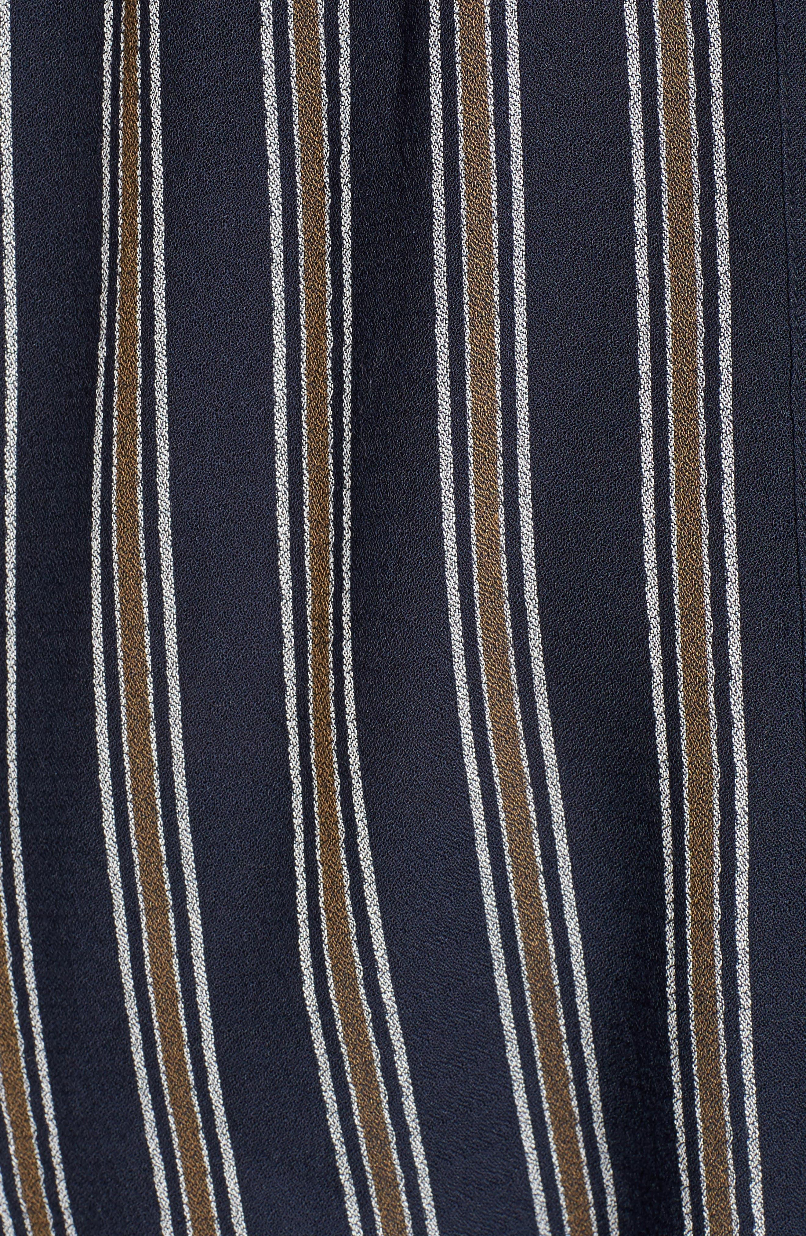 BP.,                             Stripe Button Front Shirt,                             Alternate thumbnail 5, color,                             410