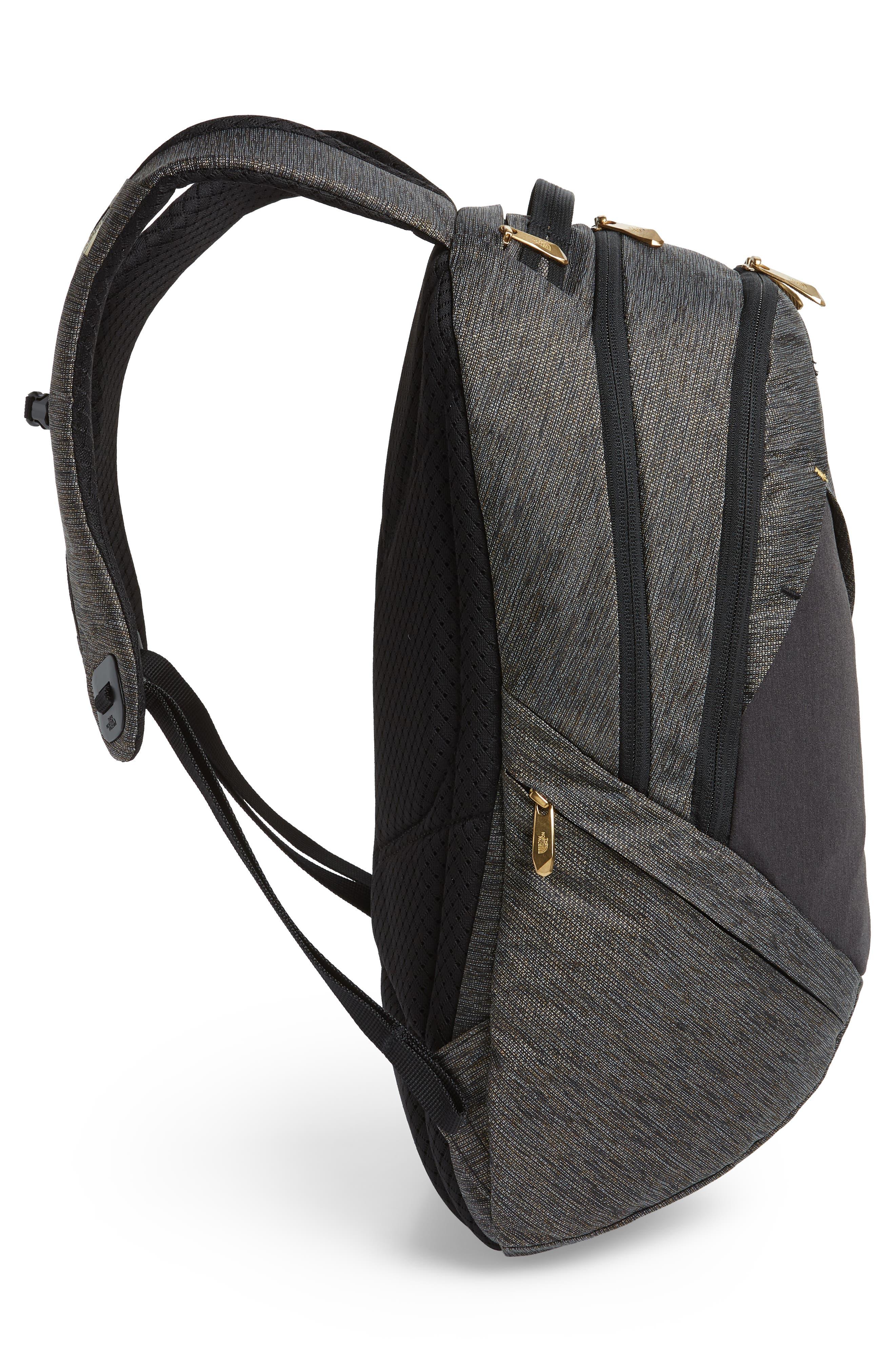 'Isabella' Backpack,                             Alternate thumbnail 5, color,                             TNF BLACK BRASS MELANGE