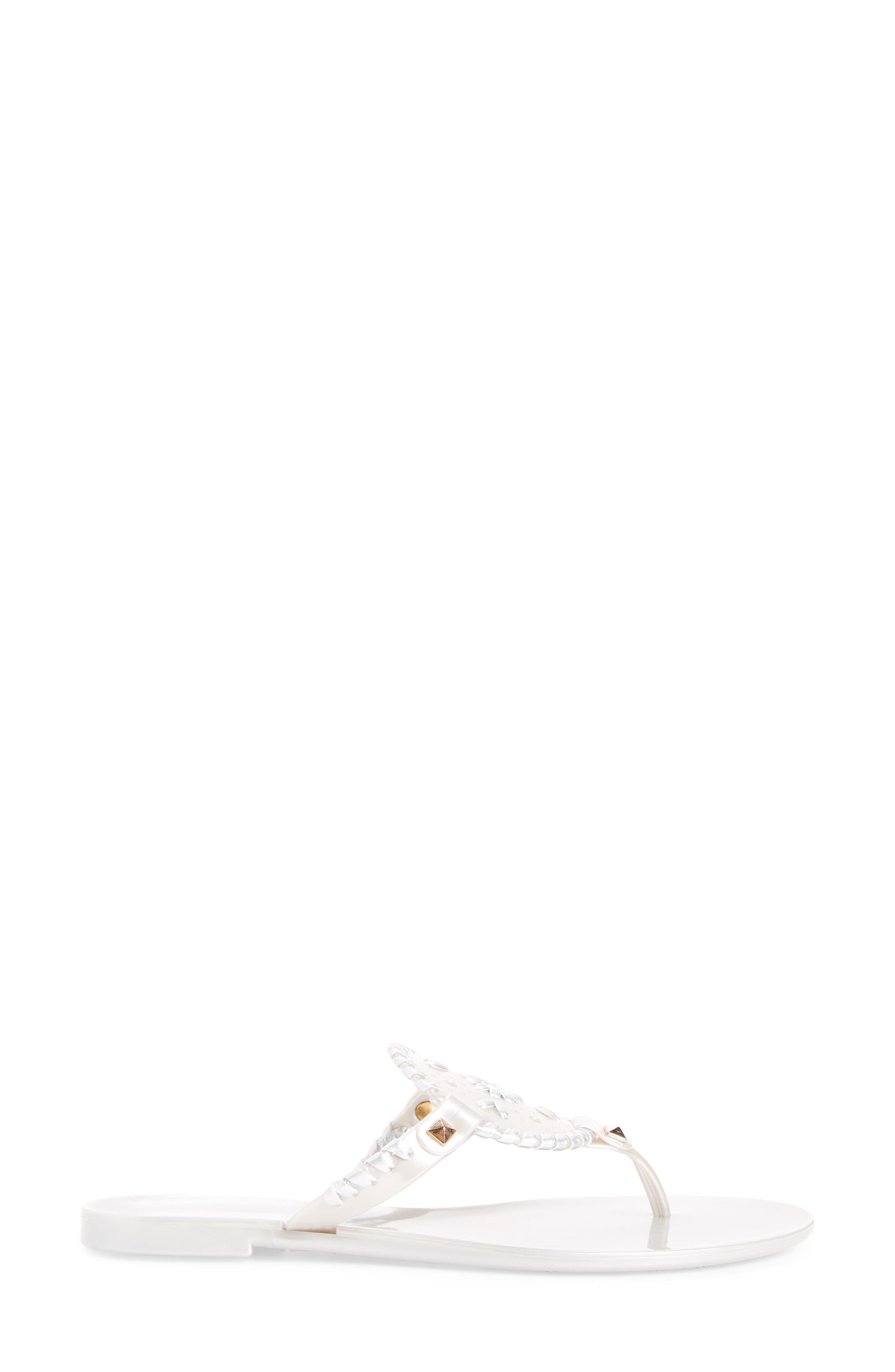 'Georgica' Jelly Flip Flop,                             Alternate thumbnail 85, color,