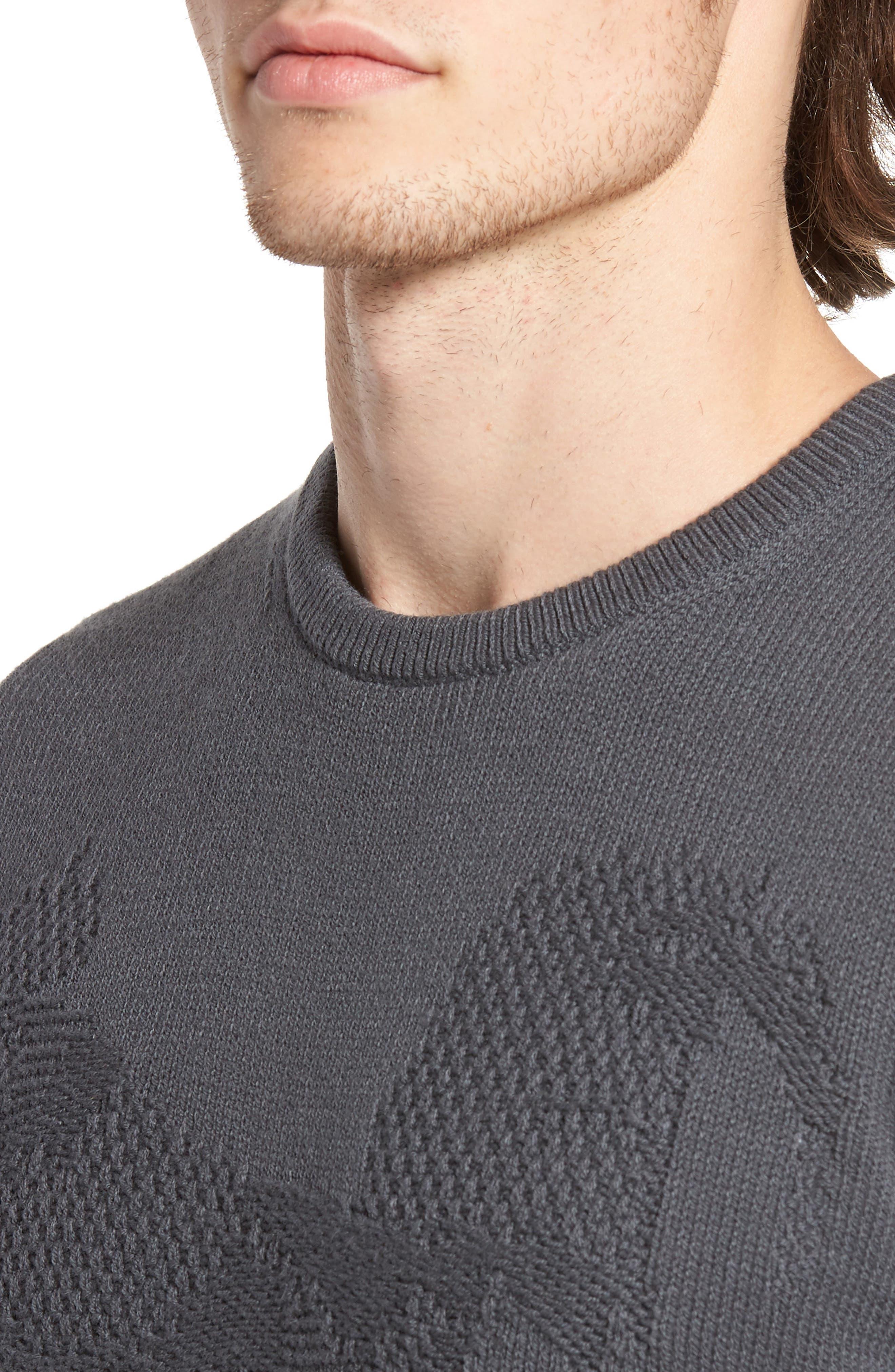 Tonal Motif Sweater,                             Alternate thumbnail 7, color,