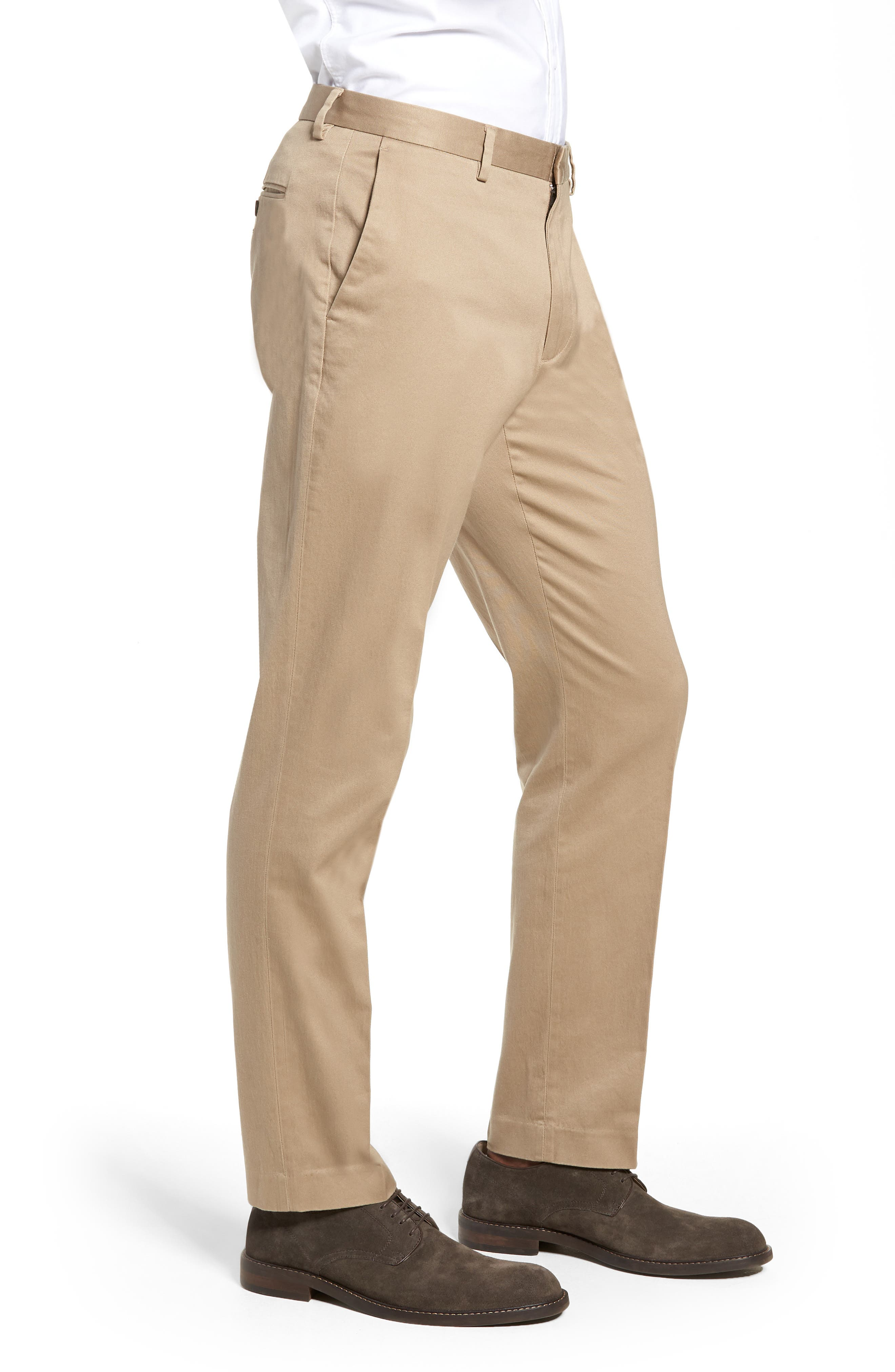 Ludlow Stretch Chino Pants,                             Alternate thumbnail 3, color,                             250