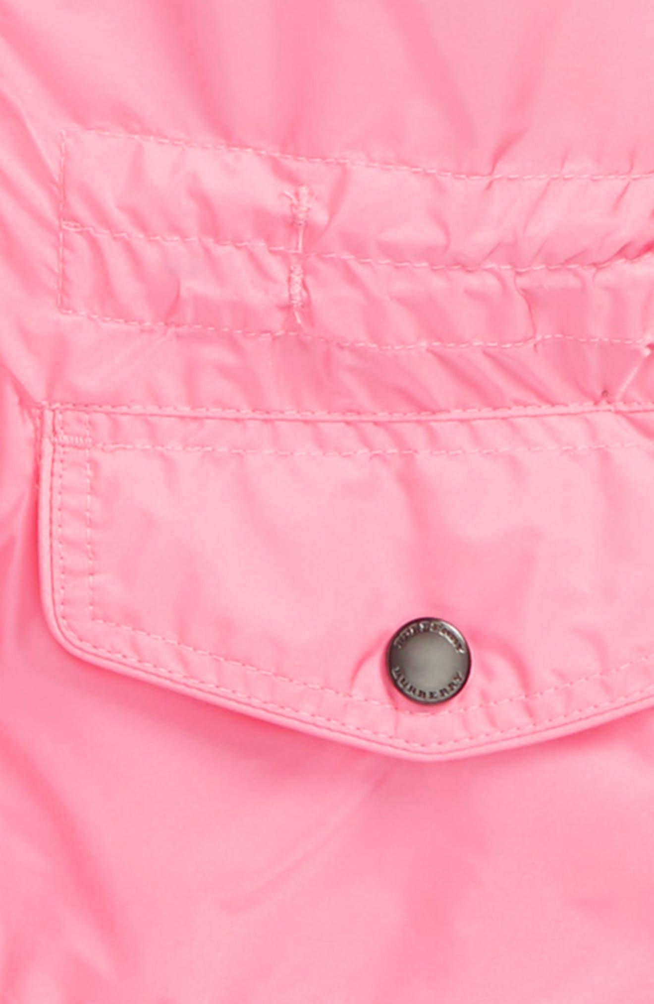 Mini Halle Waterproof Hooded Packaway Jacket,                             Alternate thumbnail 2, color,                             660