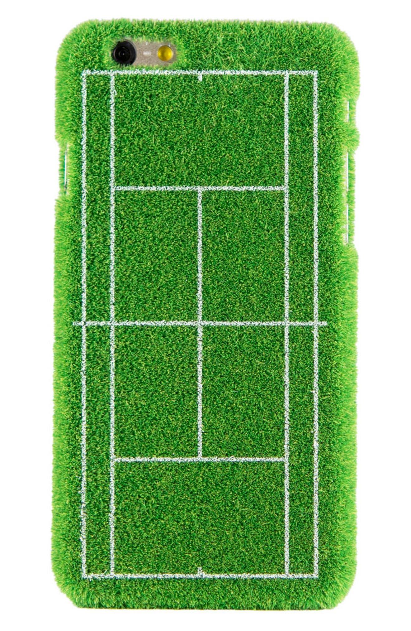 Grand Slam Portable Park iPhone 6/6s & 6/6s Plus Case,                             Alternate thumbnail 2, color,                             GREEN