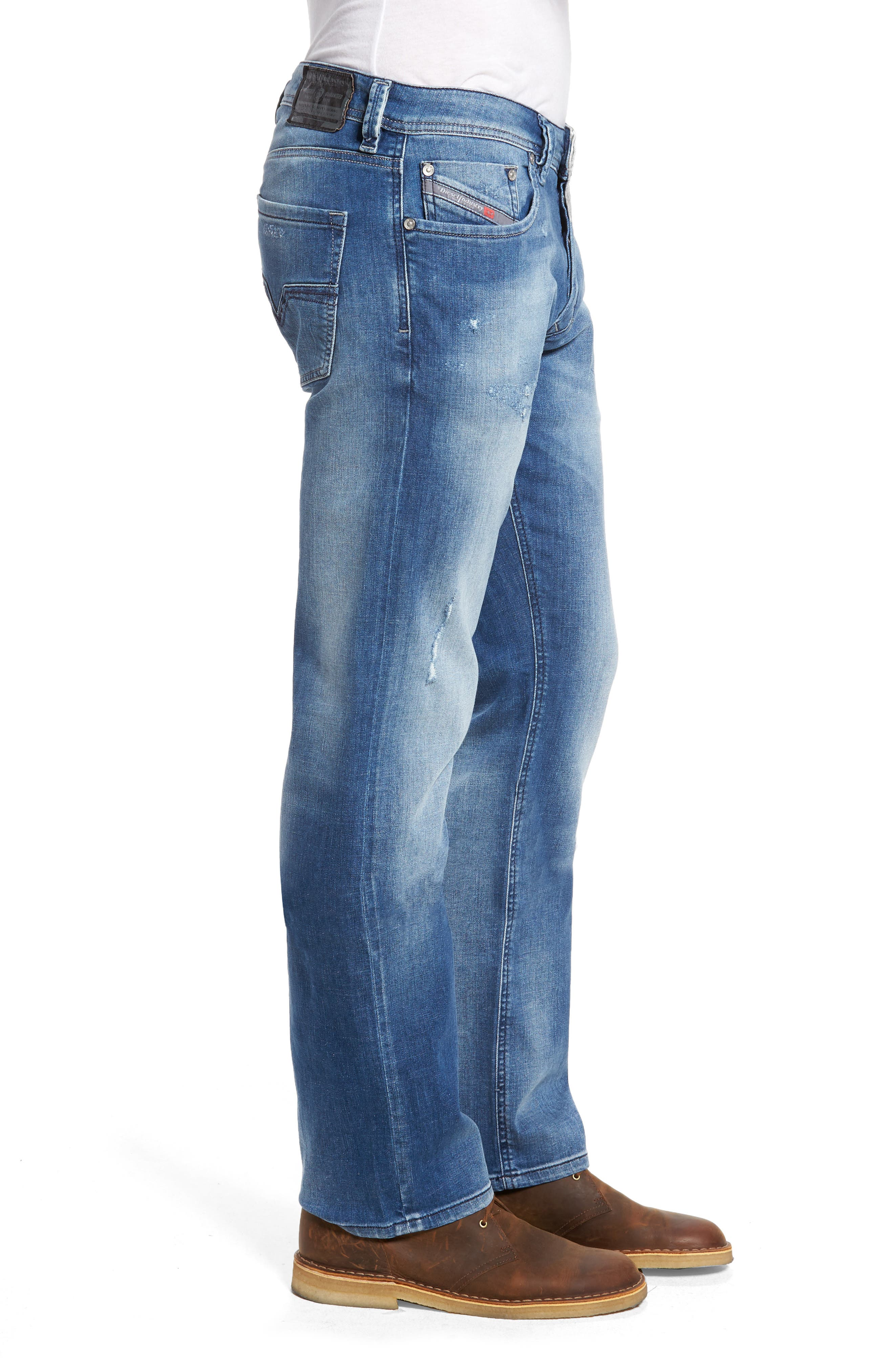 Larkee Relaxed Fit Jeans,                             Alternate thumbnail 3, color,