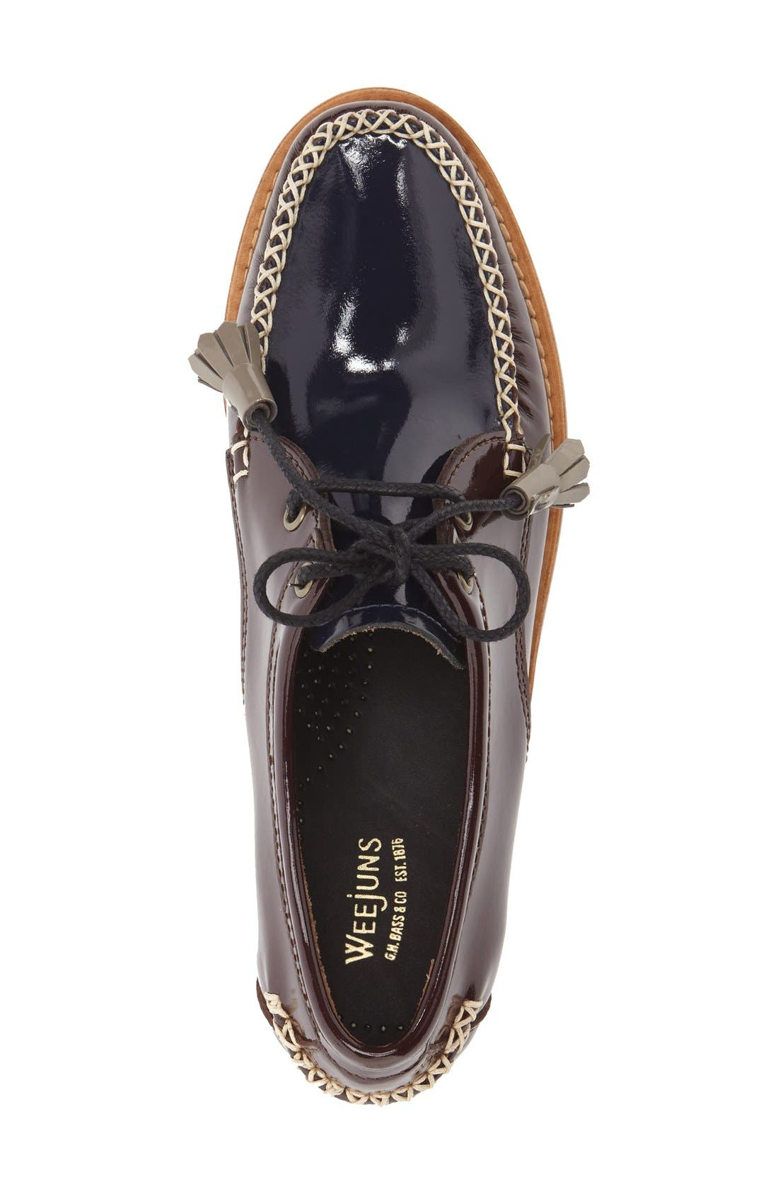 'Winnie' Leather Oxford,                             Alternate thumbnail 27, color,