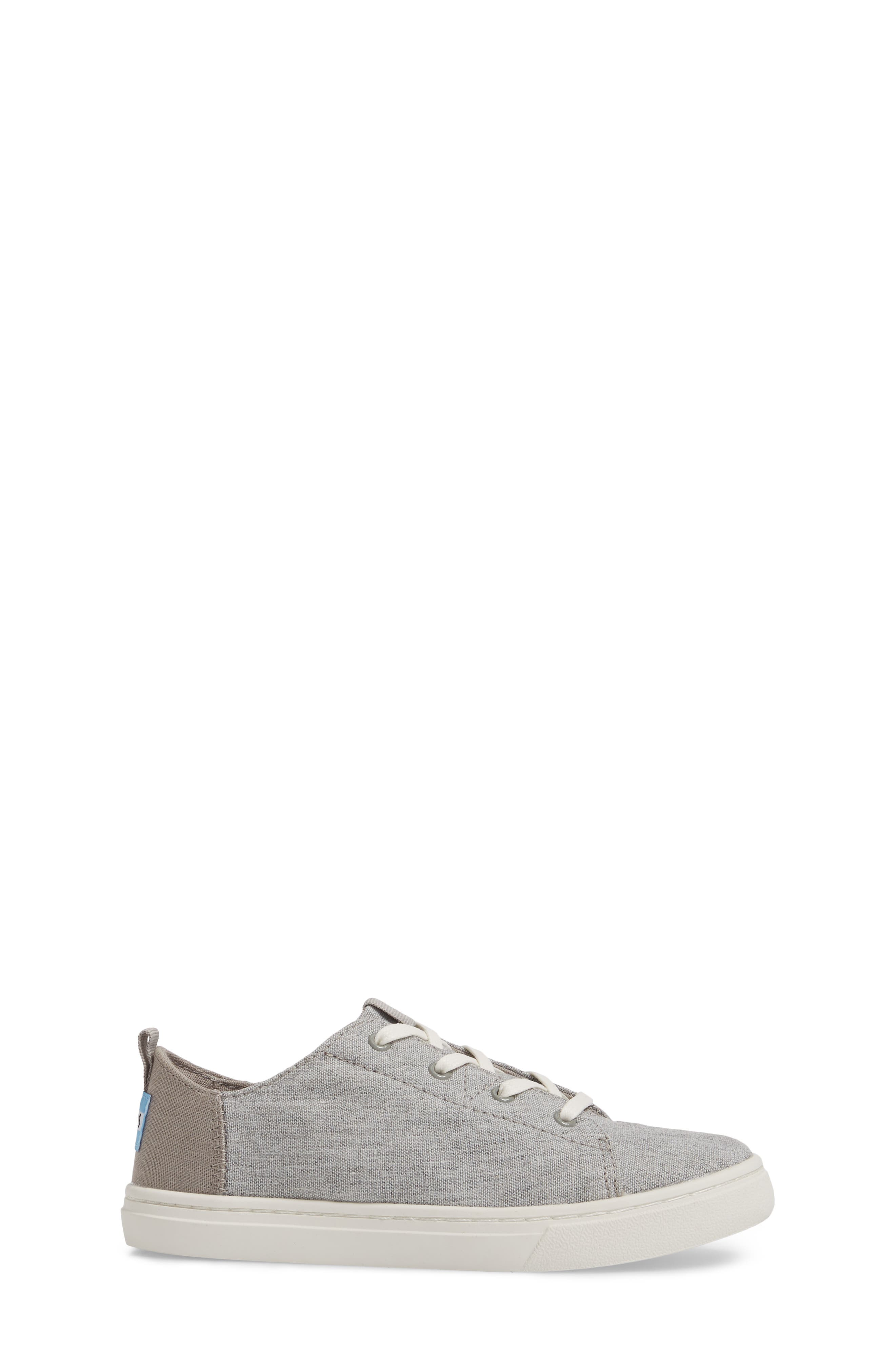 Lenny Sneaker,                             Alternate thumbnail 3, color,                             DRIZZLE GREY SLUB CHAMBRAY