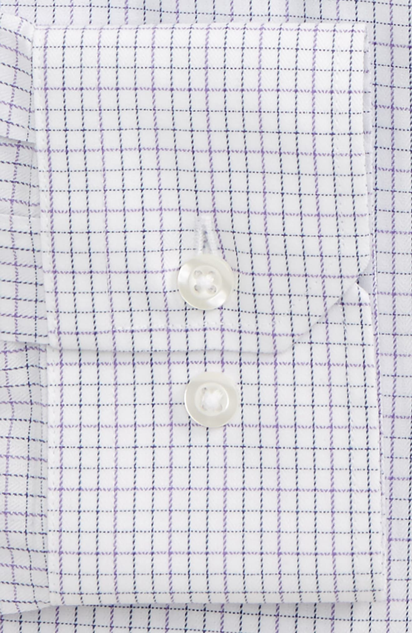 Trim Fit Check Dress Shirt,                             Alternate thumbnail 2, color,                             500