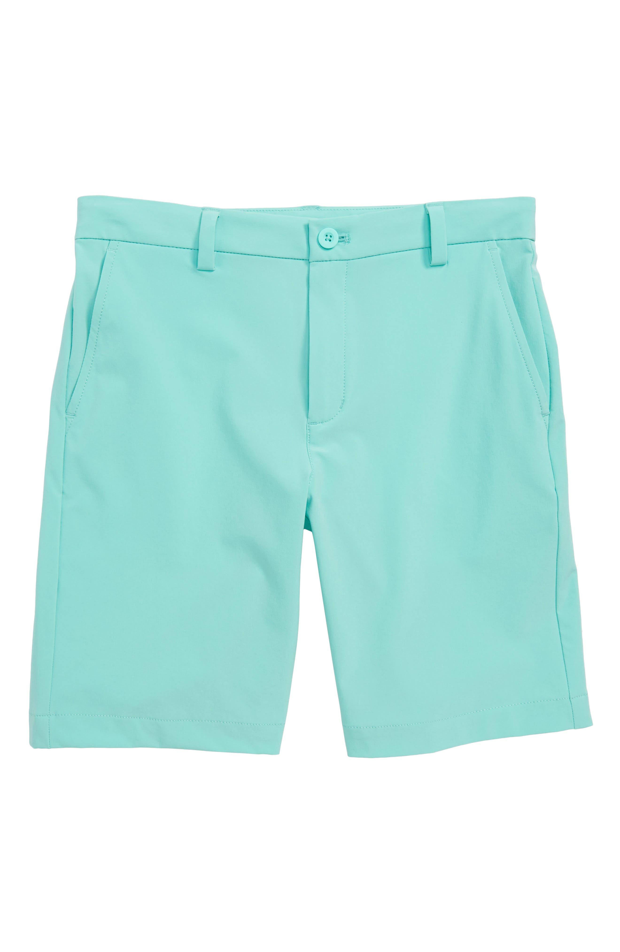 Performance Breaker Shorts,                         Main,                         color, CAPRI BLUE