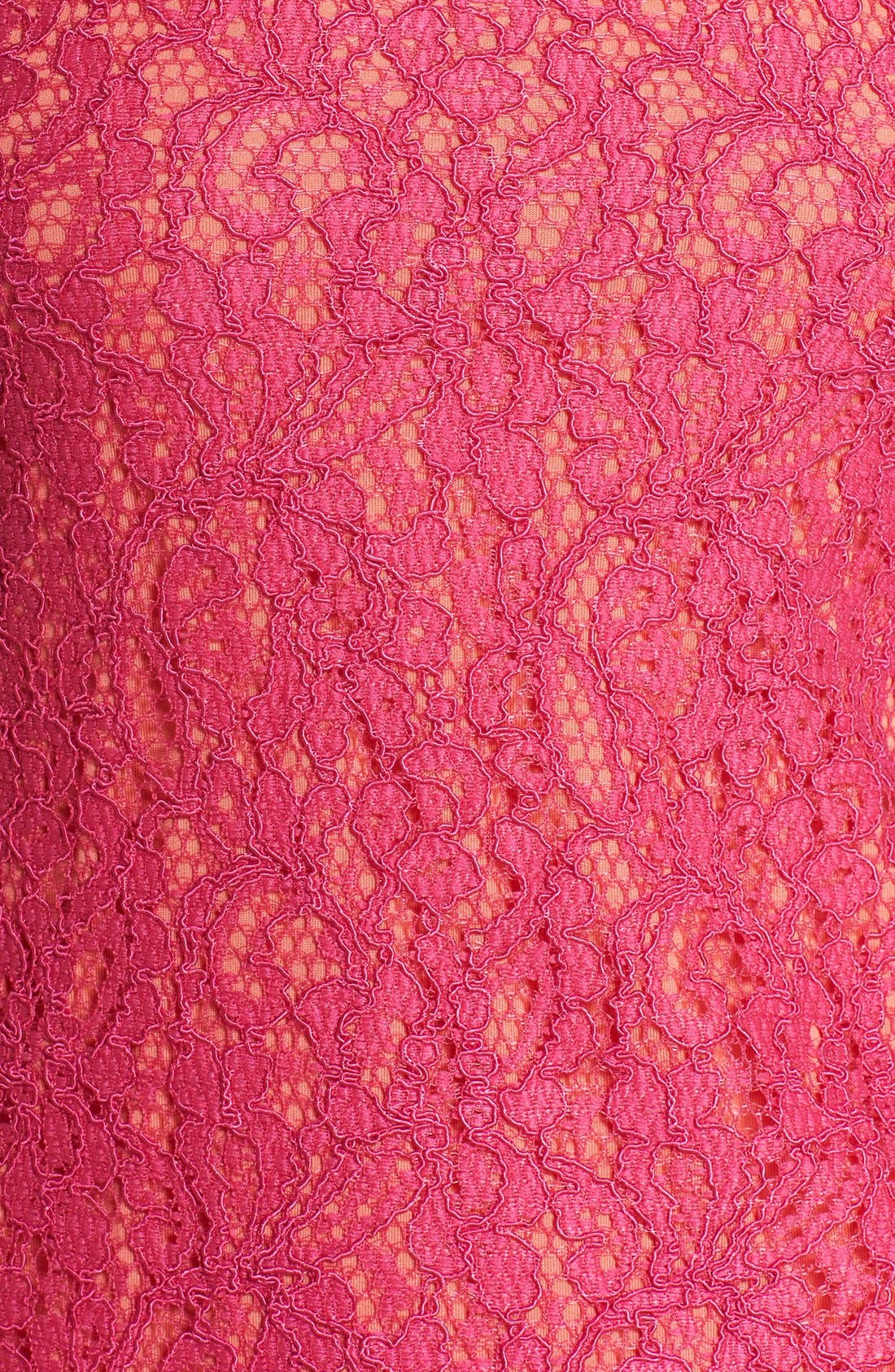 Boatneck Lace Sheath Dress,                             Alternate thumbnail 136, color,