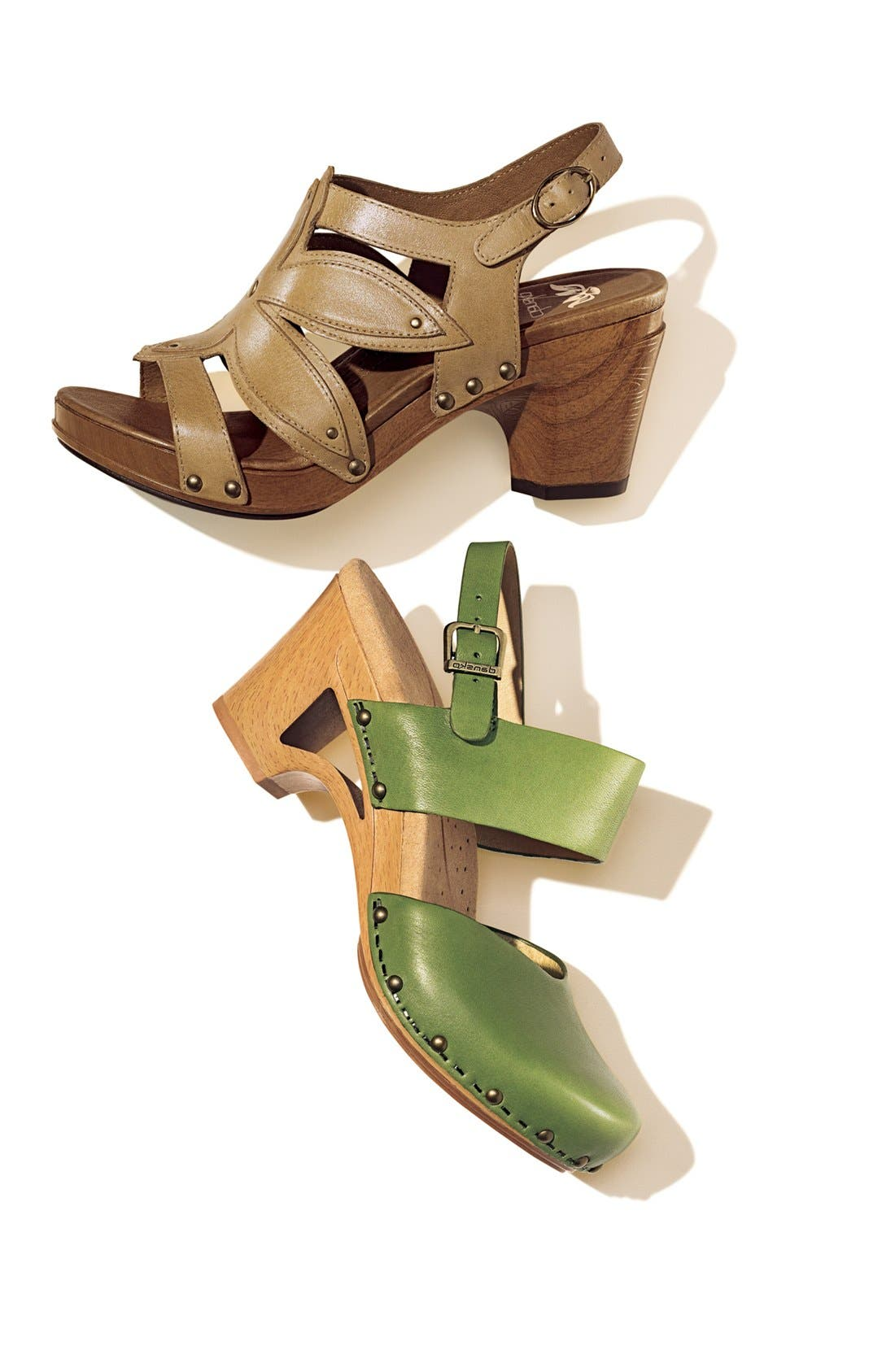 'Thea' Sandal,                             Alternate thumbnail 5, color,                             001