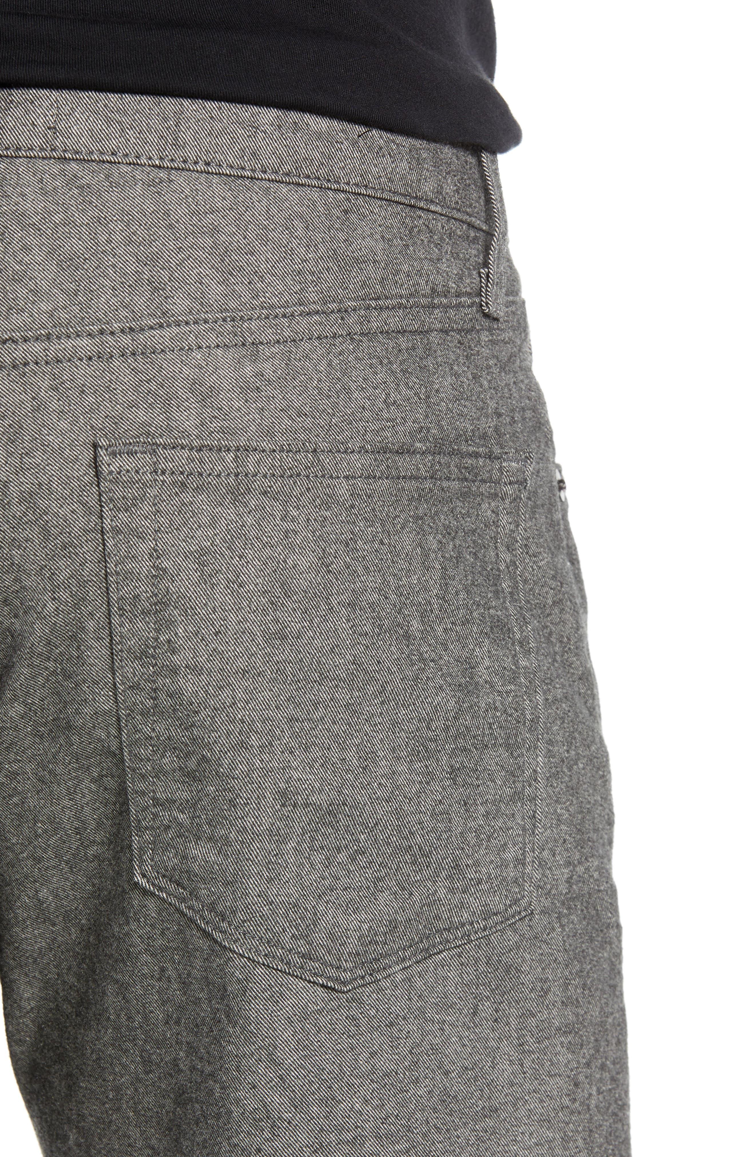 Tyler Slim Fit Jeans,                             Alternate thumbnail 4, color,                             ELECTUS MELANGE