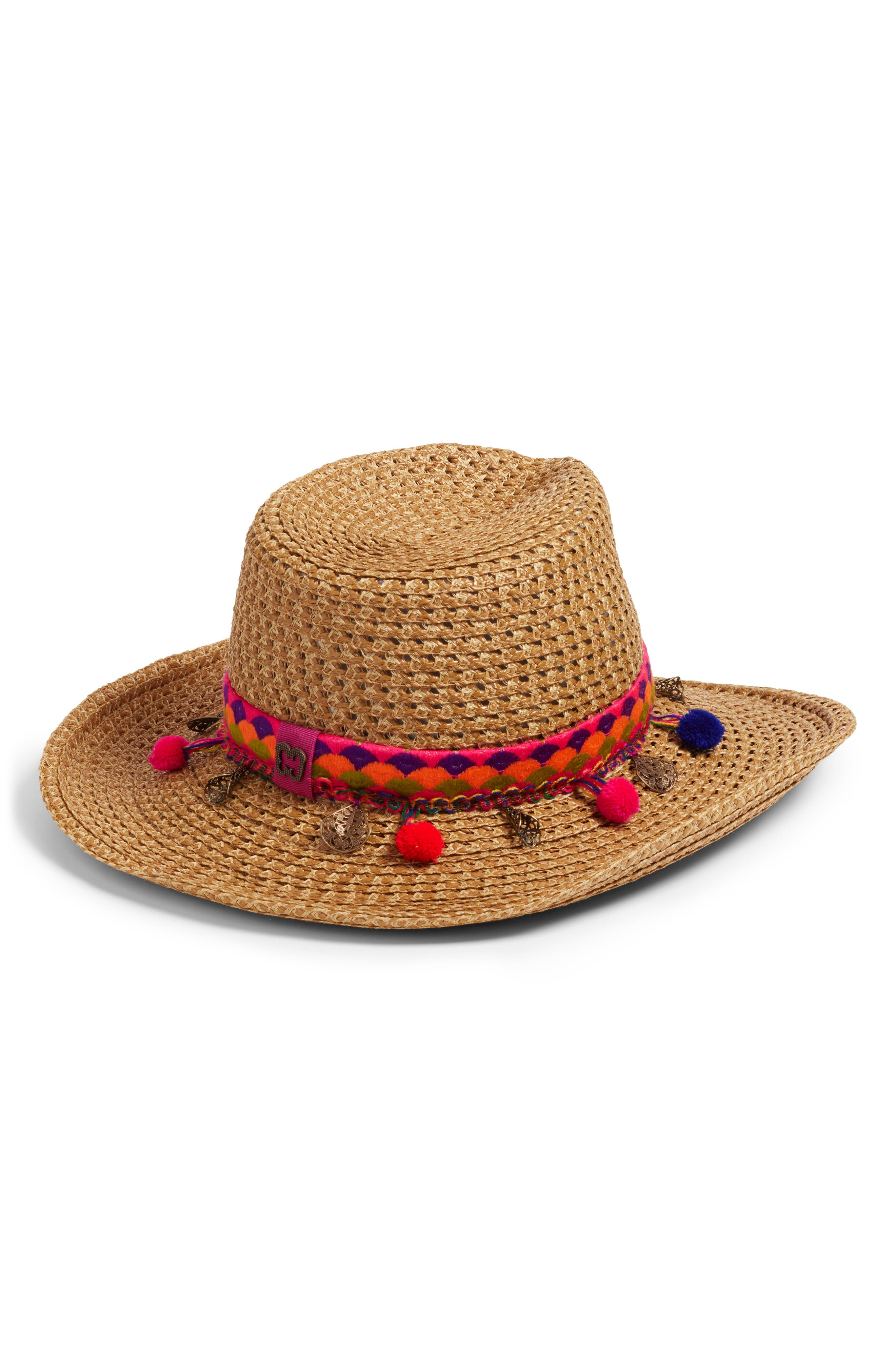 Sunny Squishee<sup>®</sup> Western Hat,                             Alternate thumbnail 2, color,                             NATURAL MIX