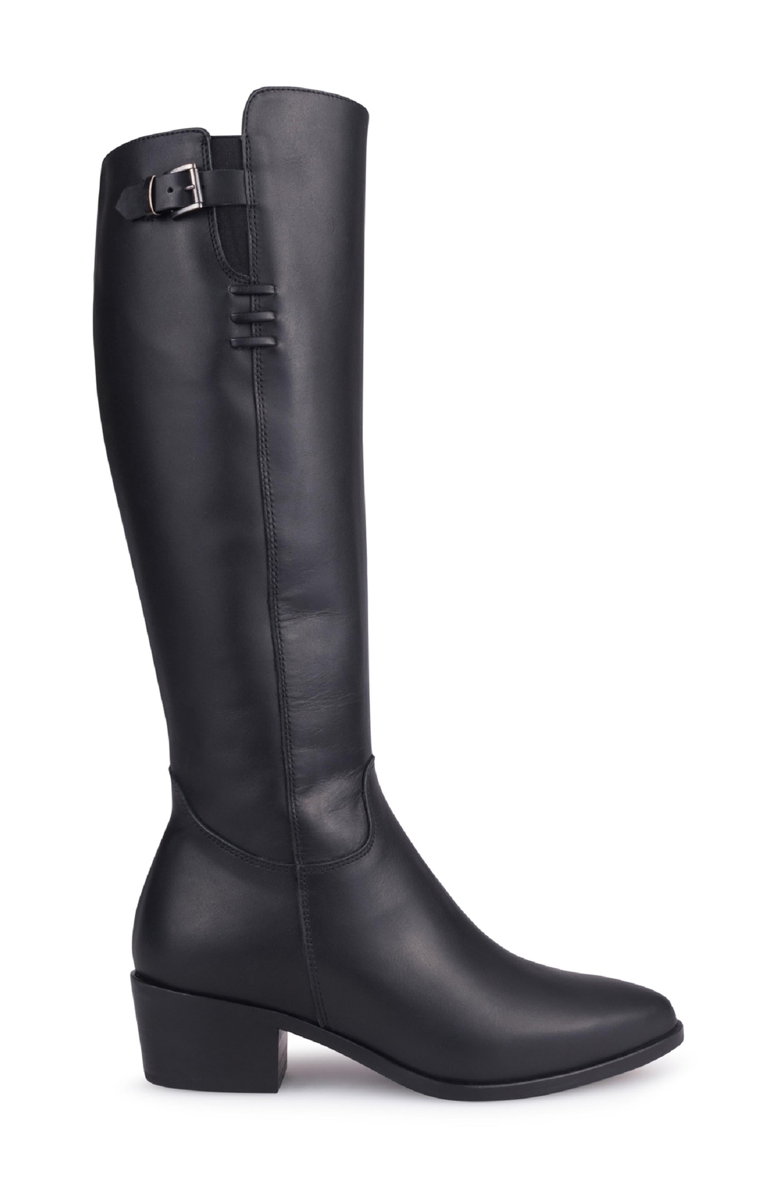 Giacinta Waterproof Knee High Boot,                             Alternate thumbnail 3, color,                             010