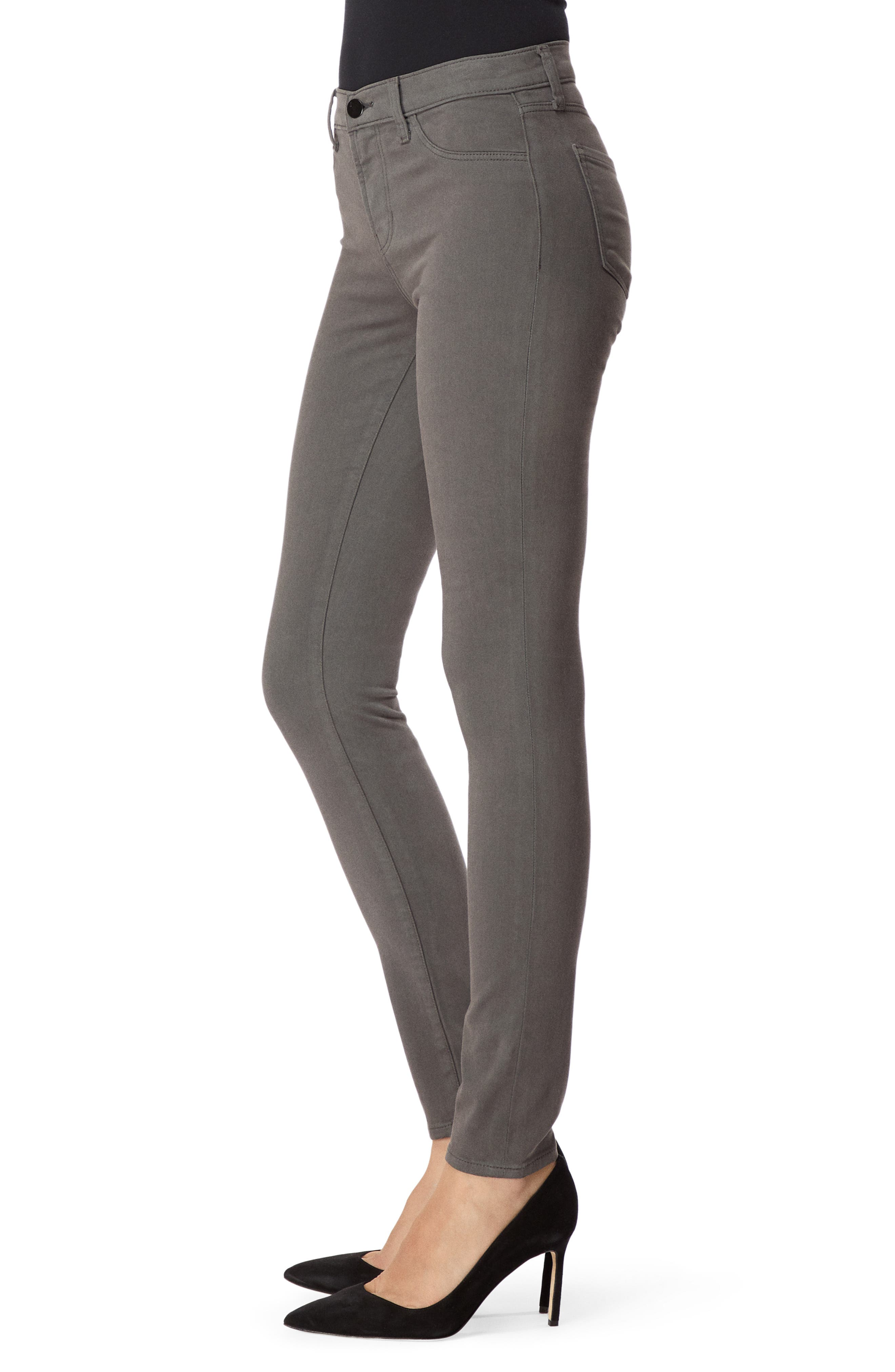 485 Mid Rise Skinny Jeans,                             Alternate thumbnail 3, color,                             FUTURE