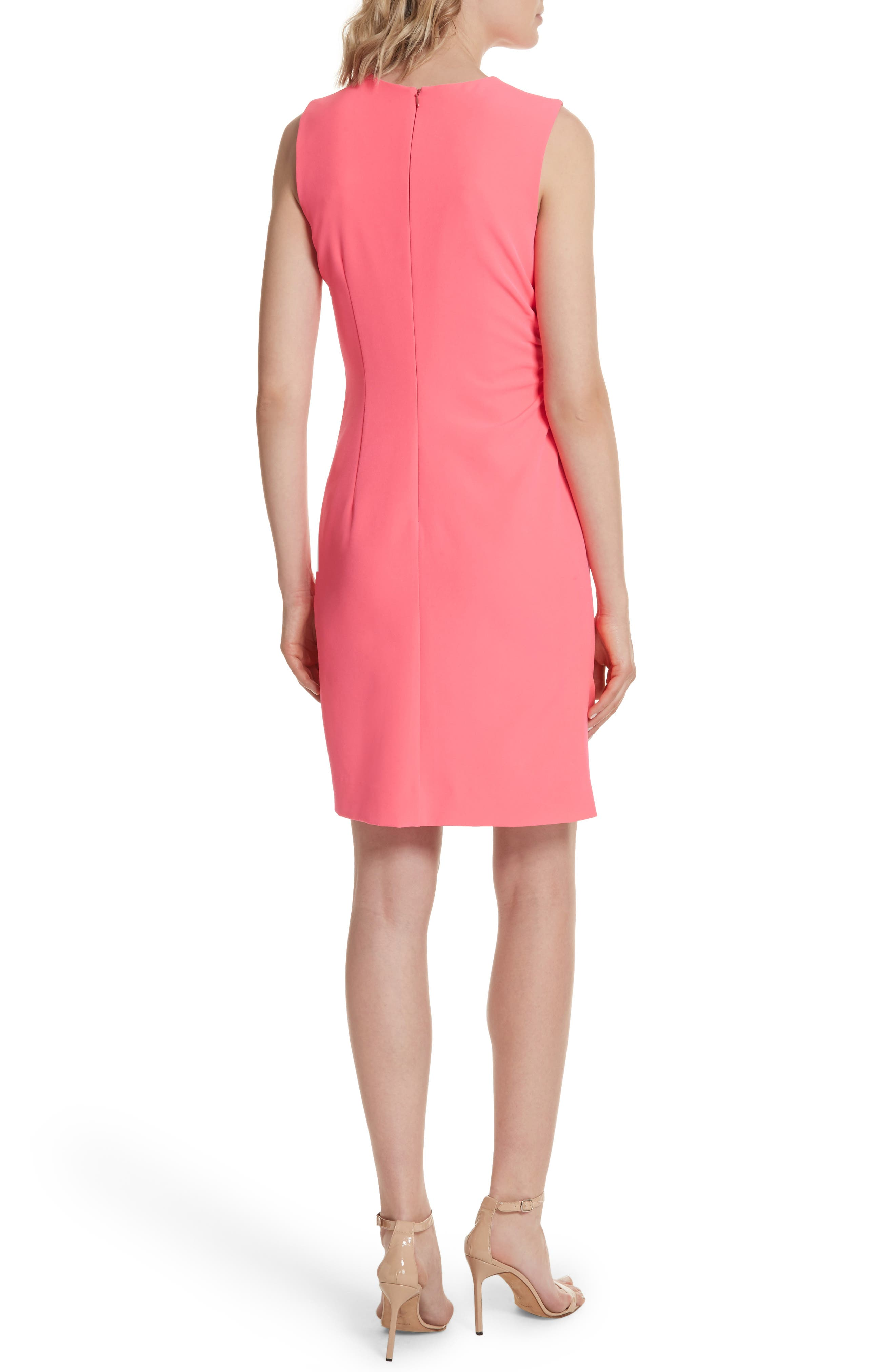 Sherry Ruched Sheath Dress,                             Alternate thumbnail 2, color,                             677