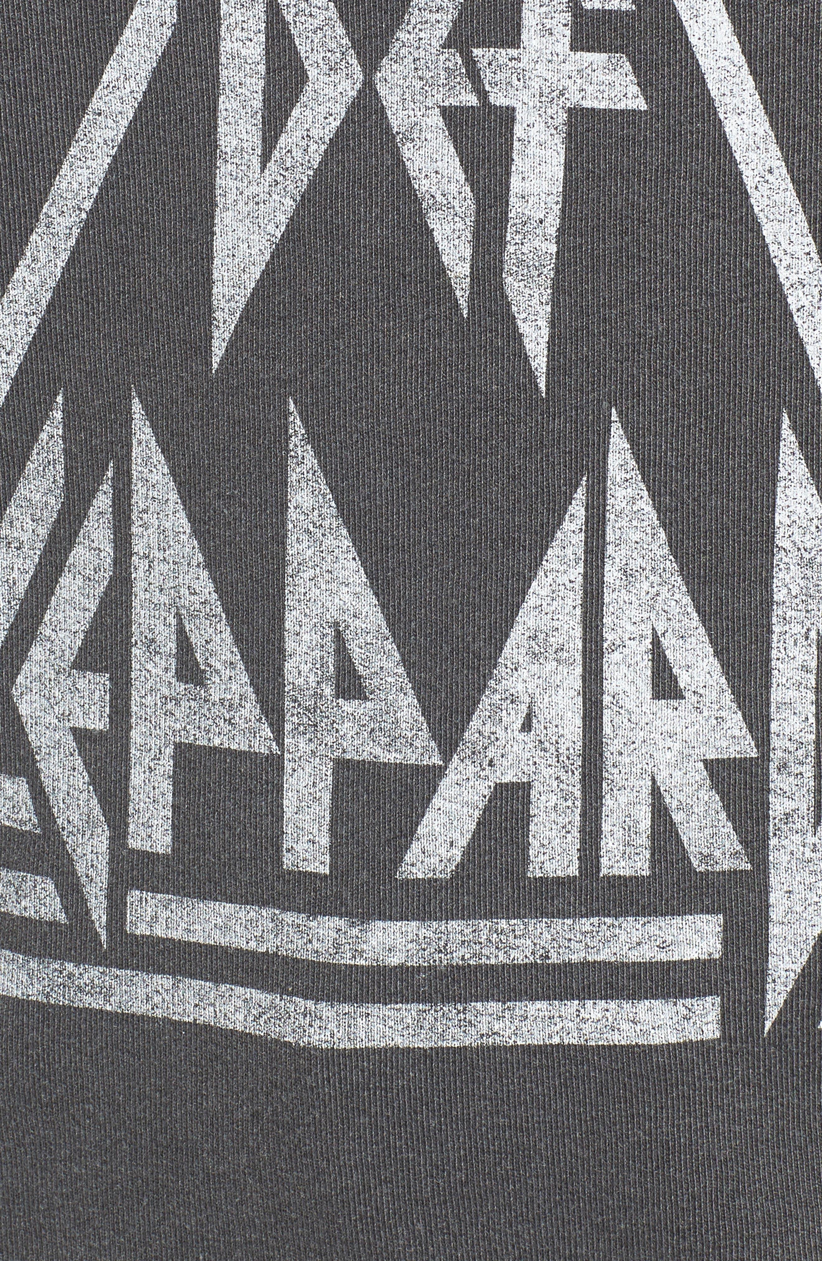 Def Leppard Sweatshirt,                             Alternate thumbnail 5, color,                             001