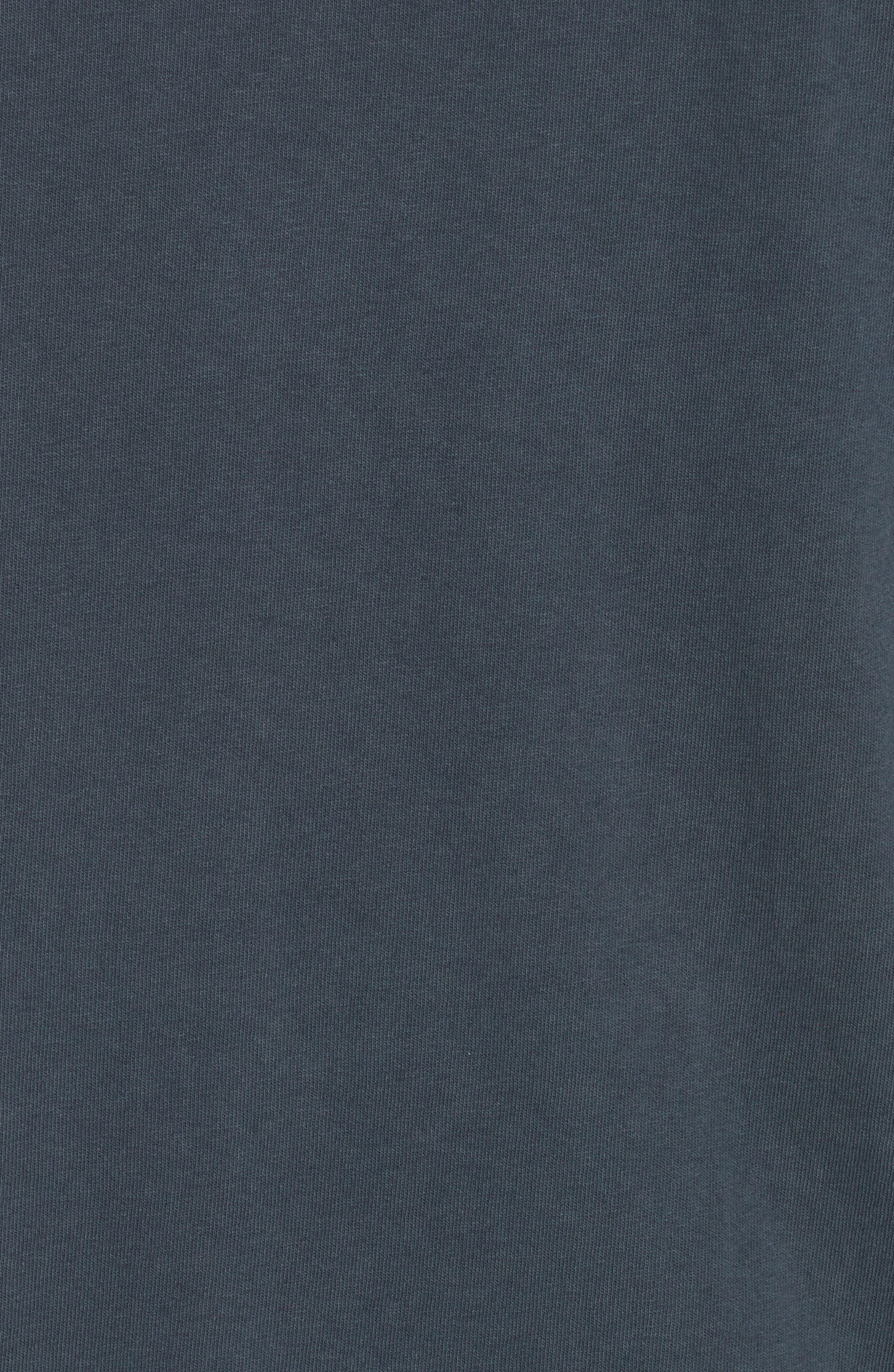Portrait Graphic Box T-shirt,                             Alternate thumbnail 5, color,                             BLACK