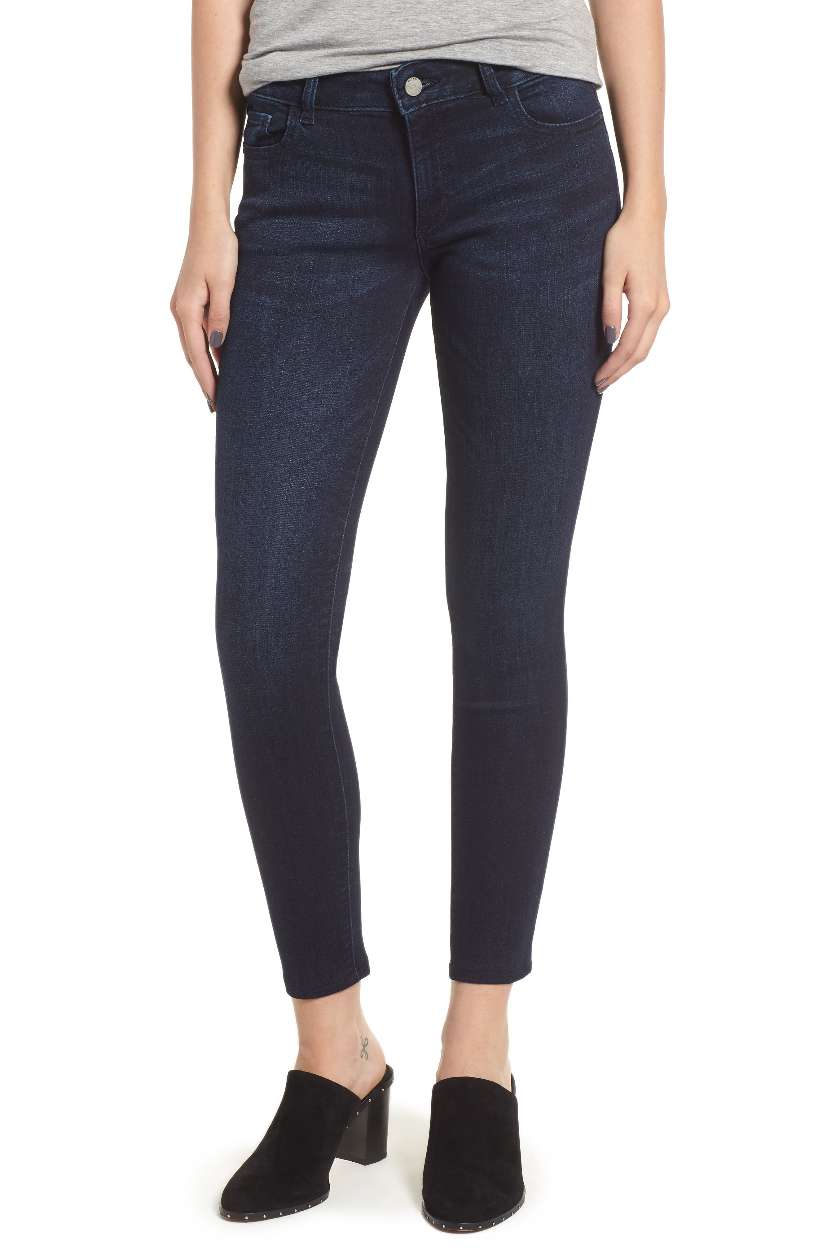 Emma Low Rise Ankle Skinny Jeans,                             Main thumbnail 1, color,                             NICHOLSON