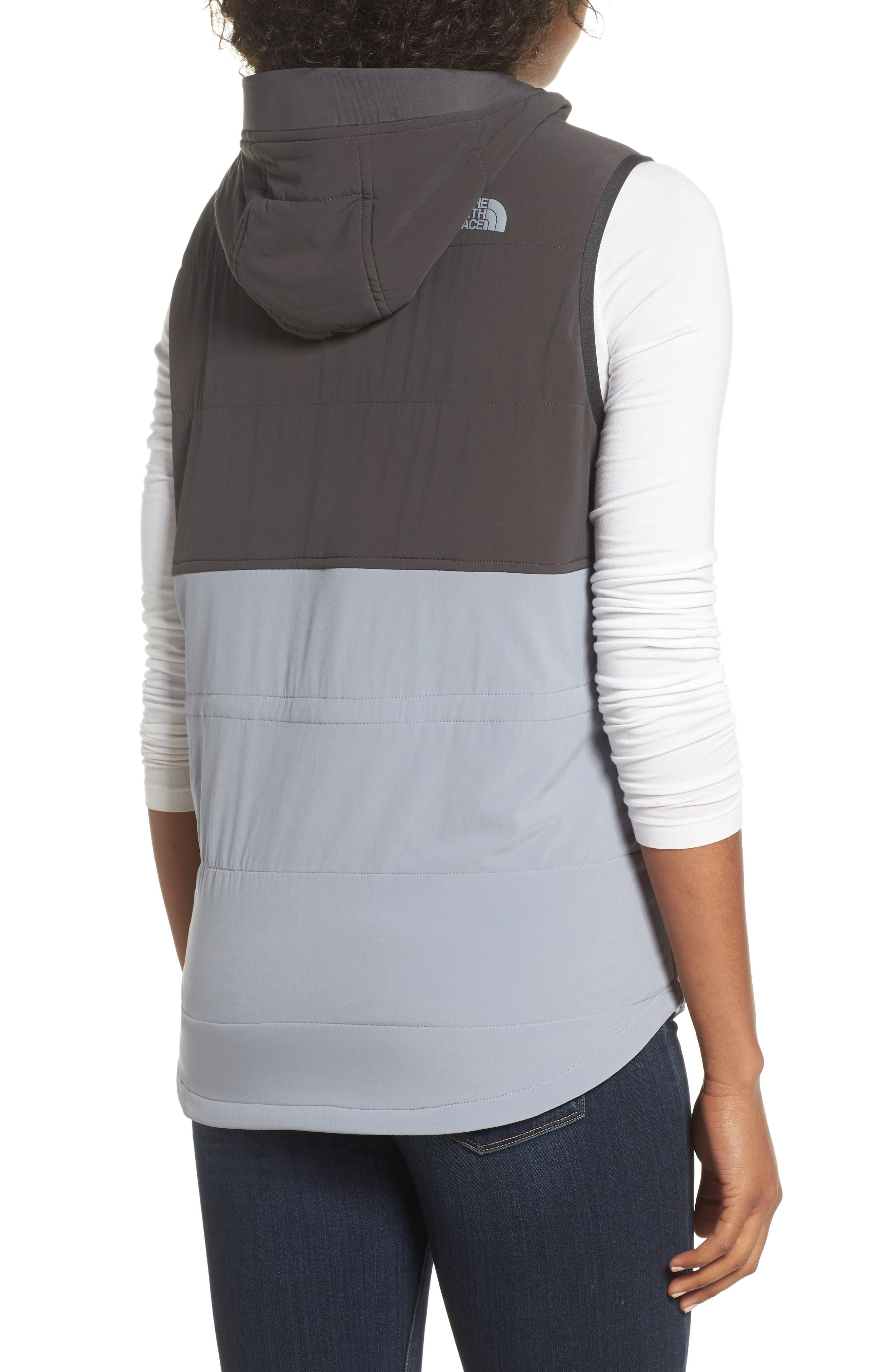 Mountain Sweatshirt Insulated Hooded Vest,                             Alternate thumbnail 7, color,