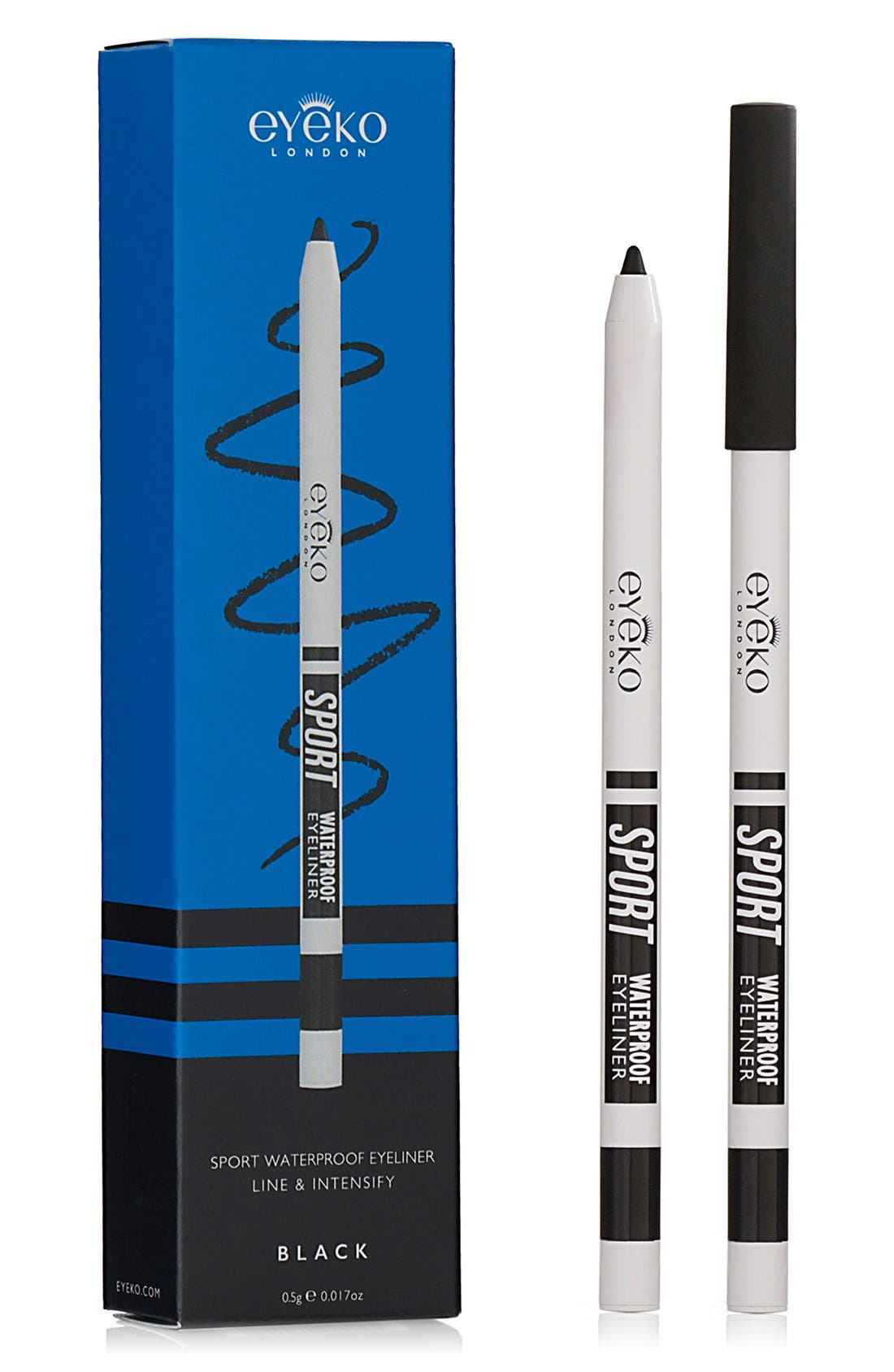 Sport Waterproof Eyeliner,                             Alternate thumbnail 6, color,                             BLACK