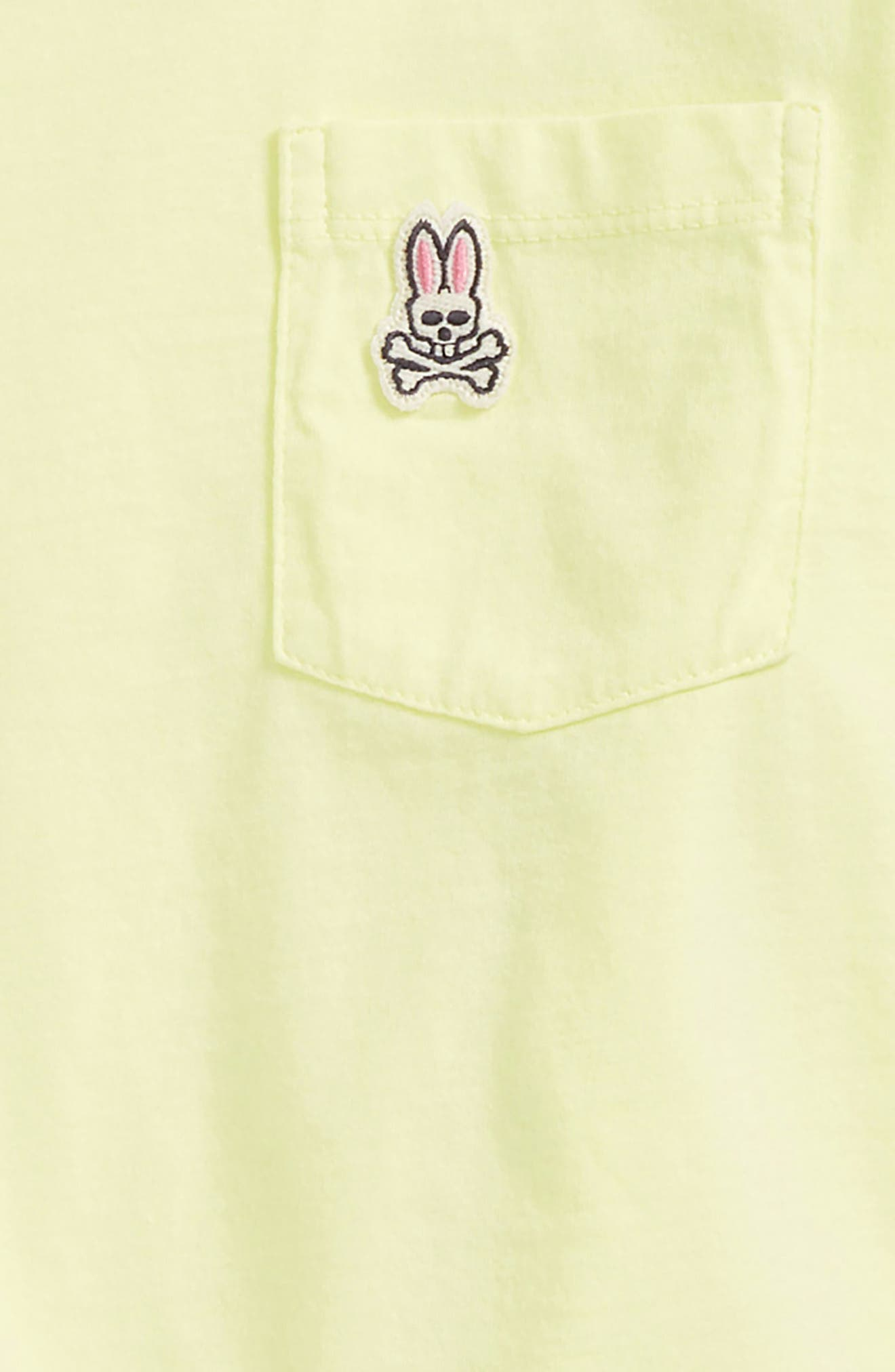 PSYCHO BUNNY,                             Langford Pocket T-Shirt,                             Alternate thumbnail 2, color,                             320