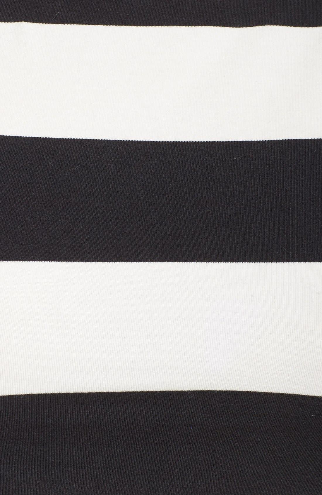 Yoga Stripe Crop Top,                             Alternate thumbnail 6, color,