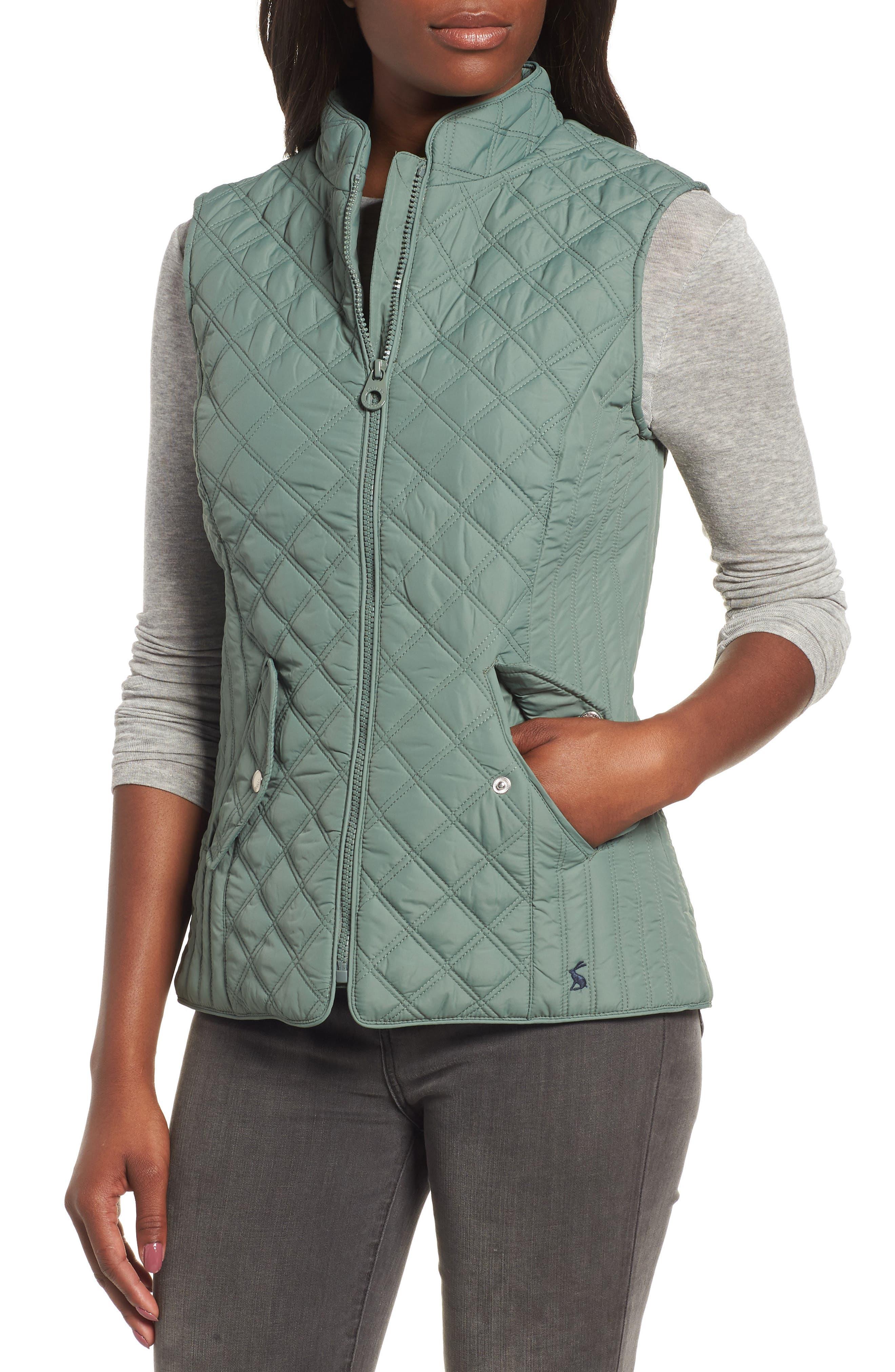 Minx Quilted Vest,                             Alternate thumbnail 4, color,                             LAUREL 2