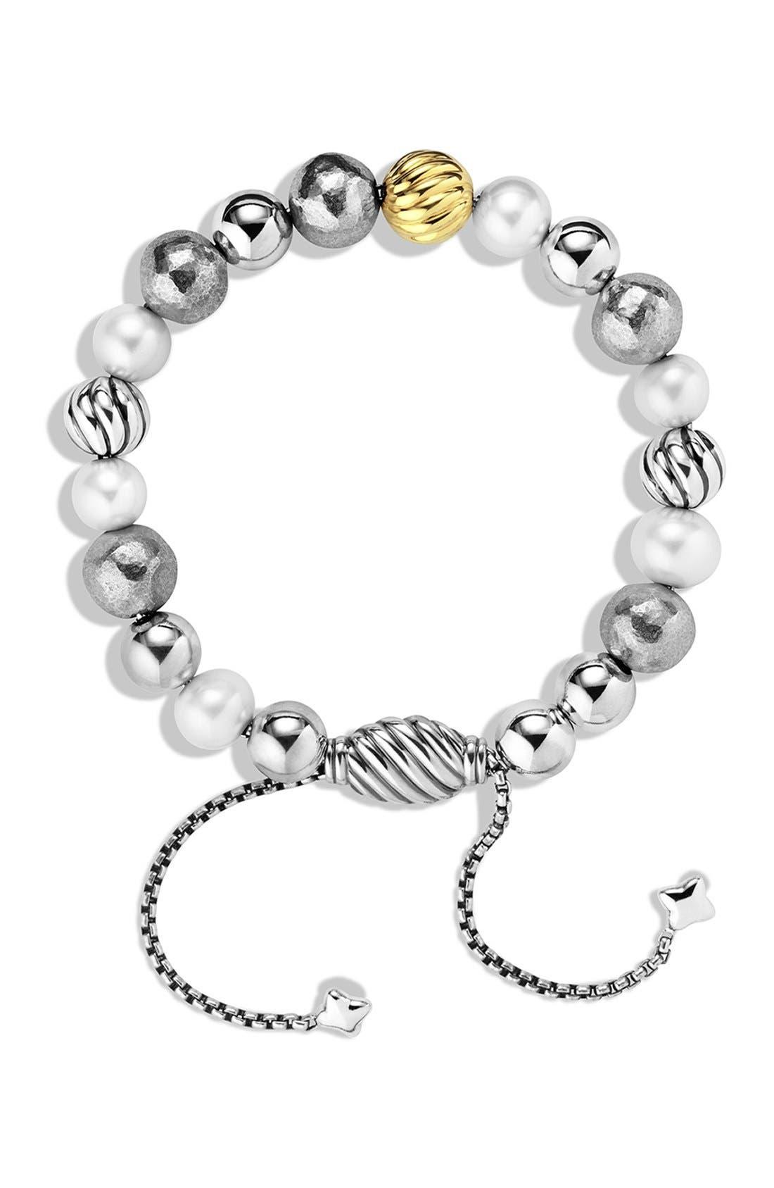 'DY Elements' Bracelet with Gold,                             Alternate thumbnail 2, color,                             101