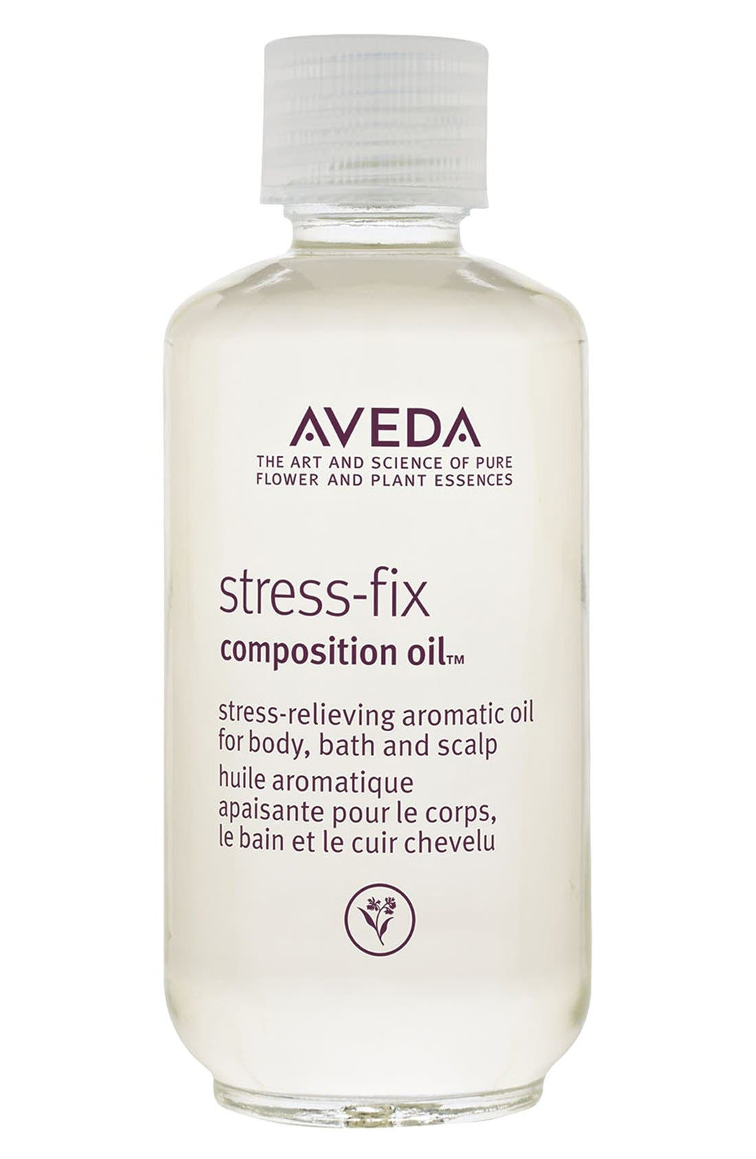 stress-fix composition oil<sup>™</sup> Stress-Relieving Aromatic Oil for Body, Bath & Scalp,                             Main thumbnail 1, color,                             NO COLOR