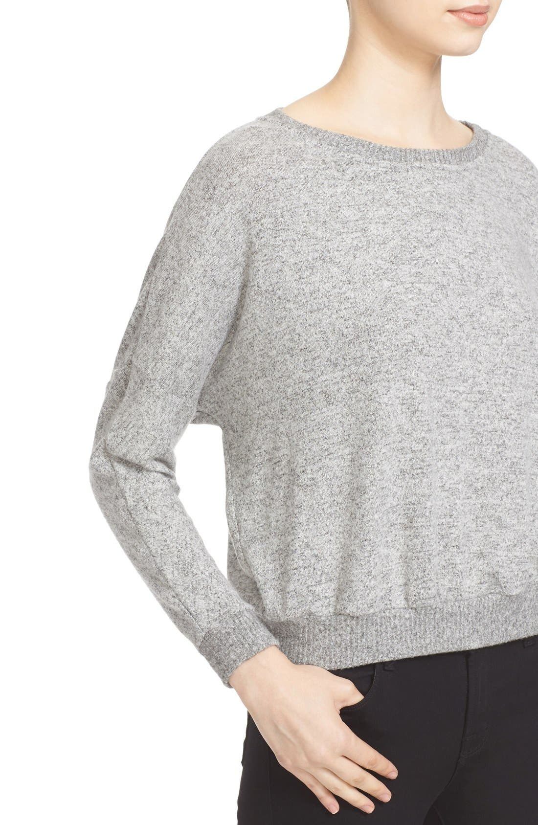 Soft Joie Giardia Drop Shoulder Sweater,                             Alternate thumbnail 7, color,                             099
